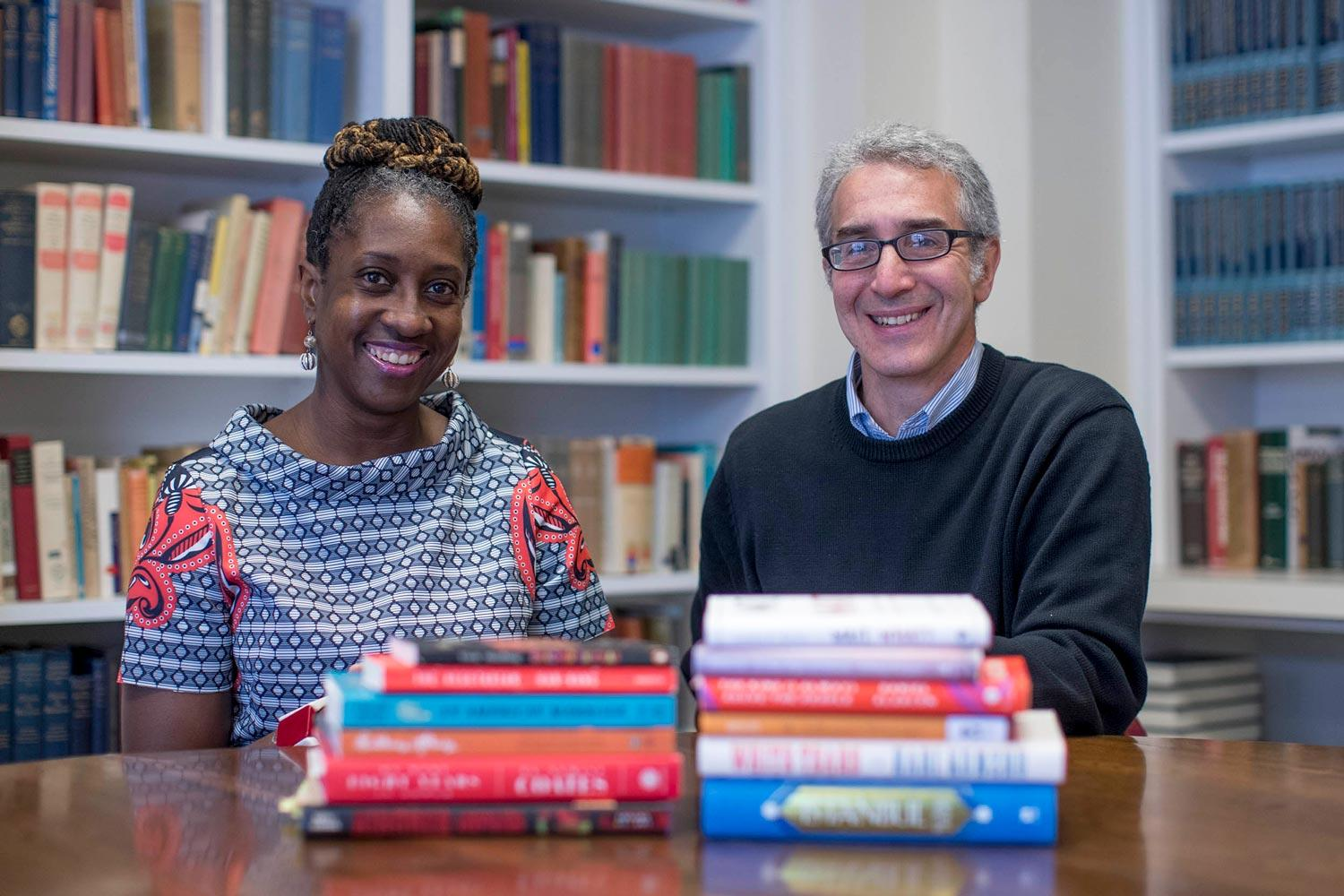 English professor Lisa Woolfork and Roy Cadoff, UVA Bookstore's general books manager, offered their book recommendations Tuesday in a Facebook Live session.