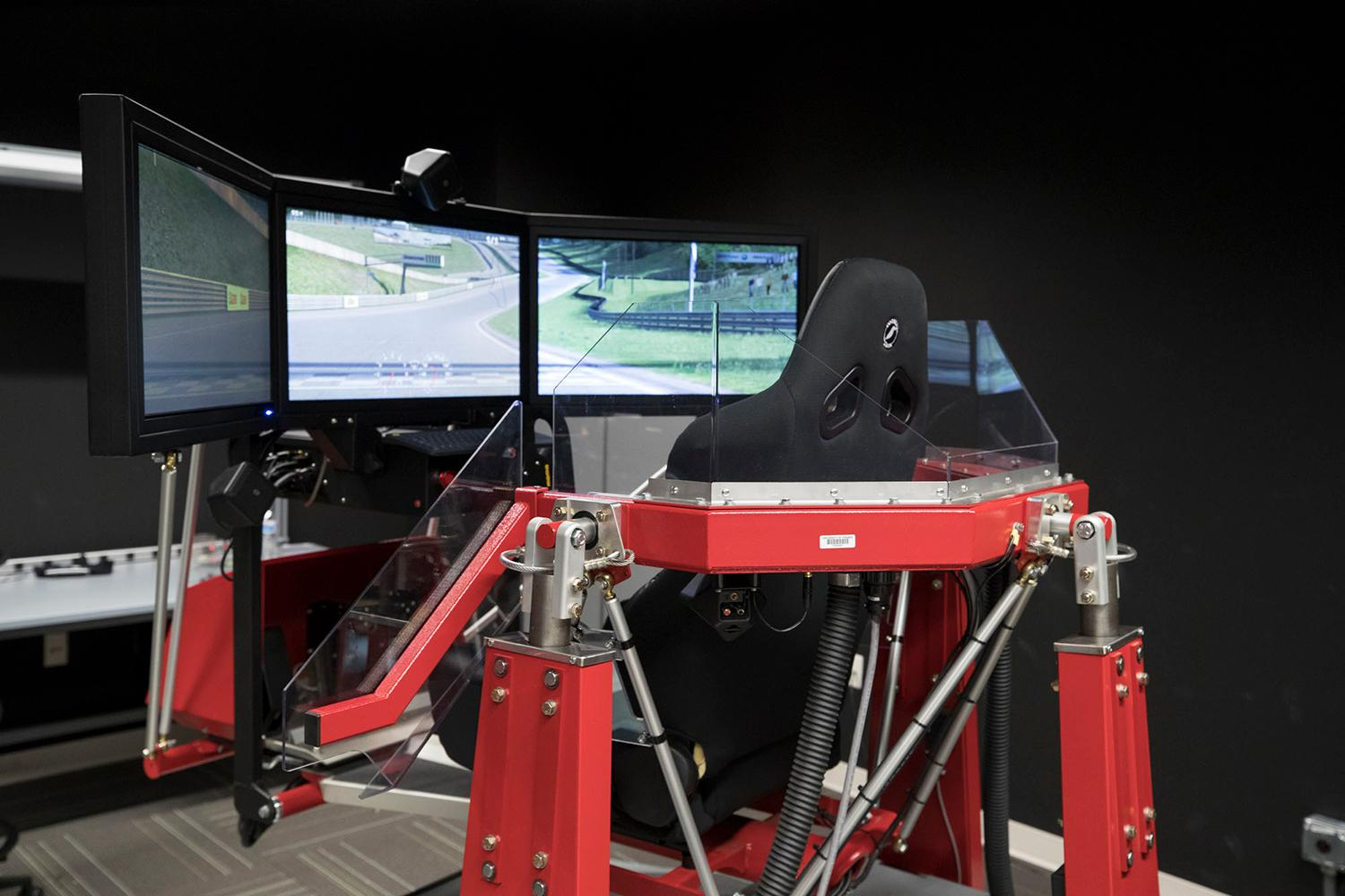 Using a simulator, for now, UVA researchers are probing the factors that lead people to feel more or less comfortable with letting go of the steering wheel.