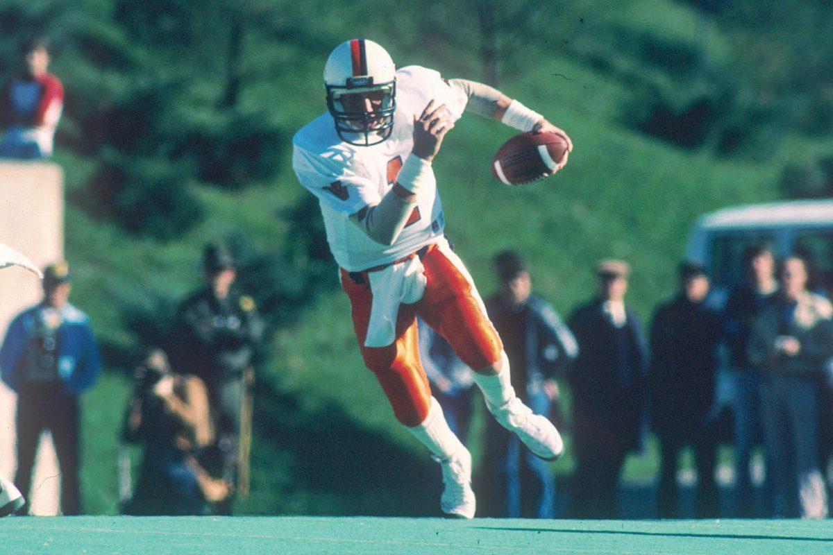 Majkowski led UVA to a Peach Bowl win in 1984.