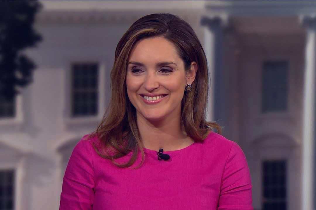 "Margaret Brennan hosted her first ""Face the Nation"" show on Sunday."