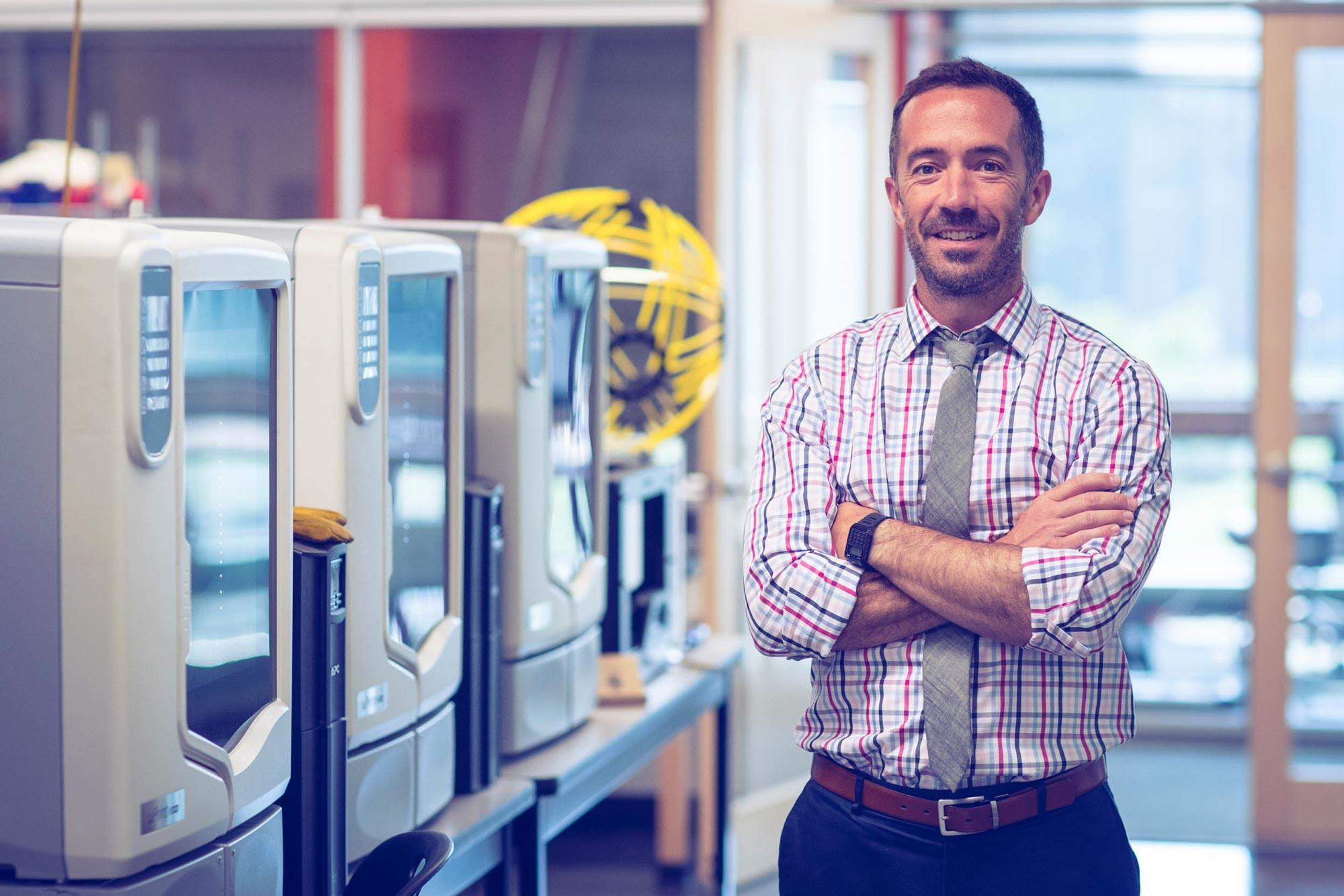 Matt Shields, trained as an engineer, found his true calling in education. Now he's shaking up how Charlottesville schools teach STEM.