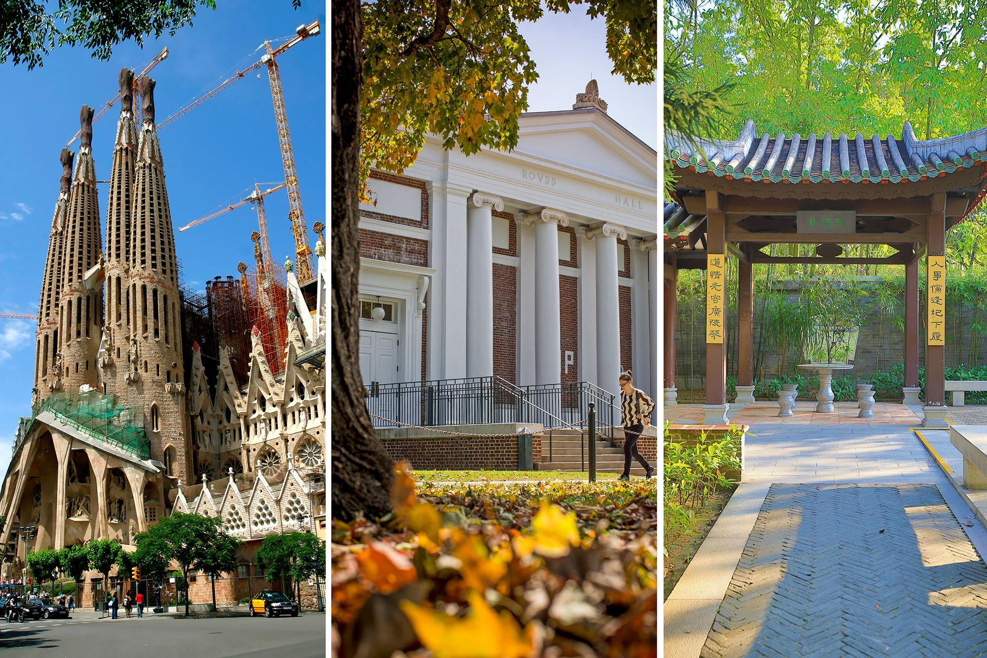 Students in the program will study at UVA, as well as ESADE Business School in Barcelona, Spain, and Lingnan (University) College at Sun Yat-sen University in Guangzhou, China.