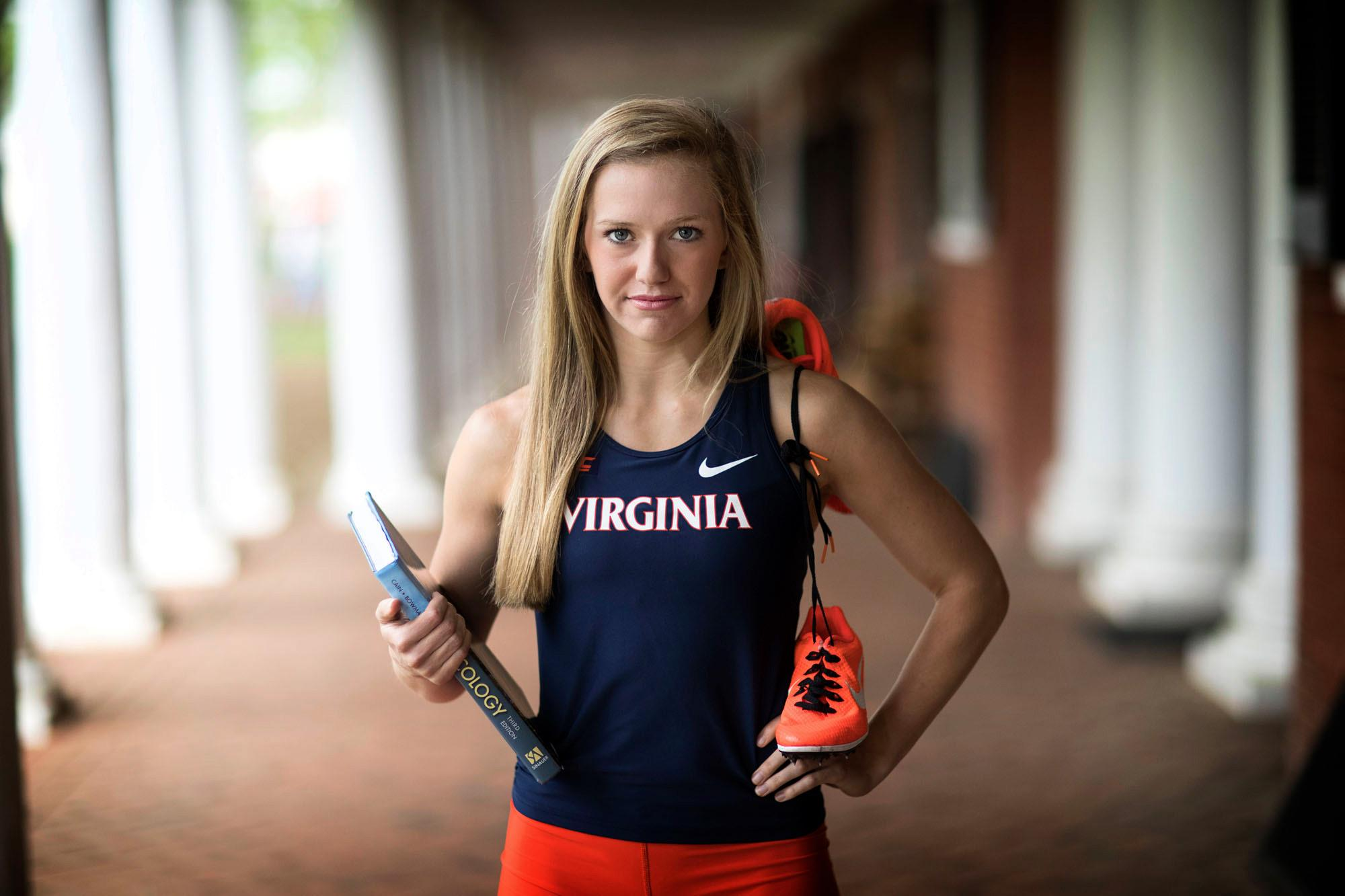 Biology major Micah Brickhill will attend UVA's School of Medicine this fall.