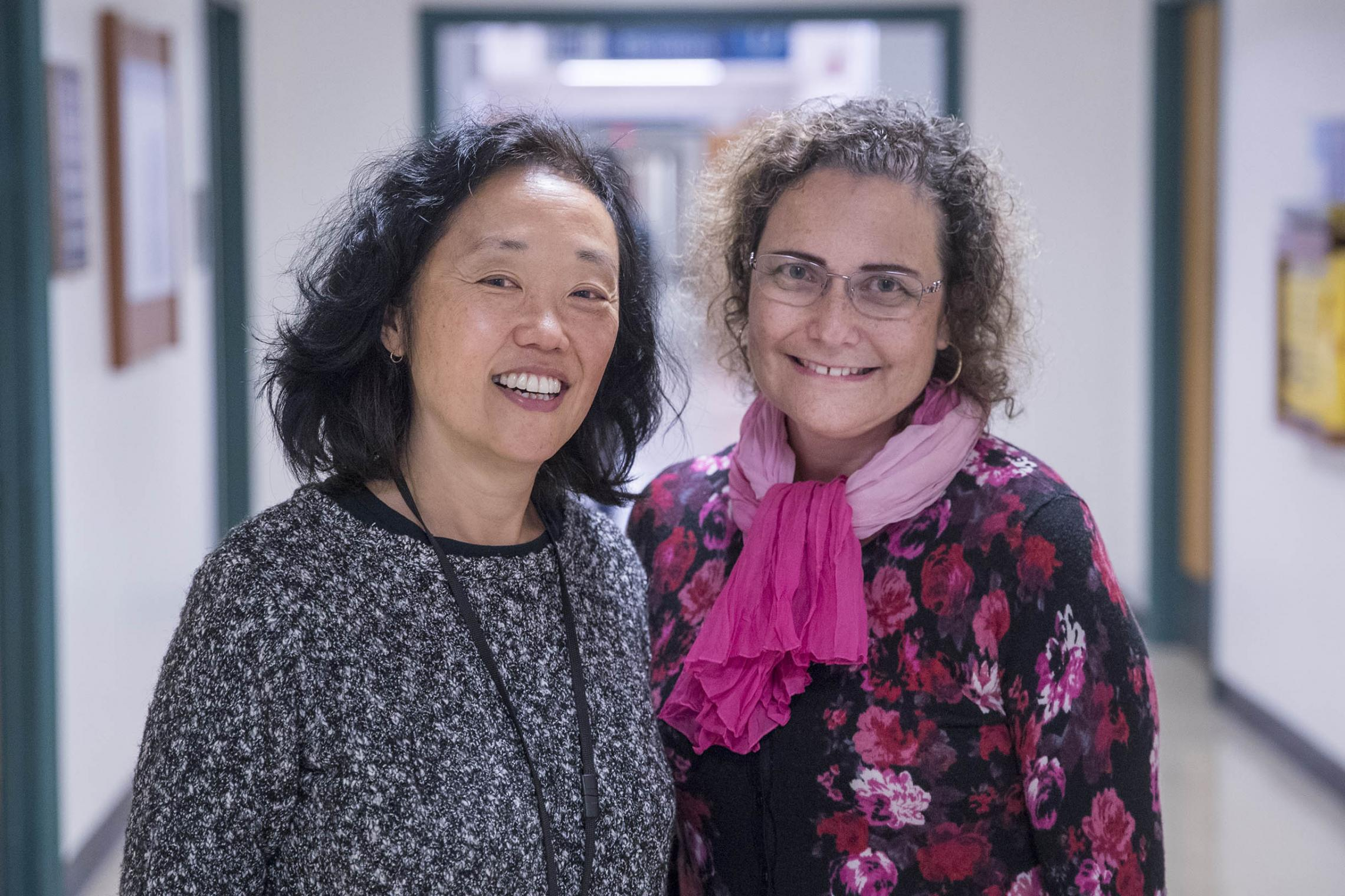 Dr. Rachel Moon, left, and Dr. Fern Hauck were part of a major study into breastfeeding's protective effect against SIDS.