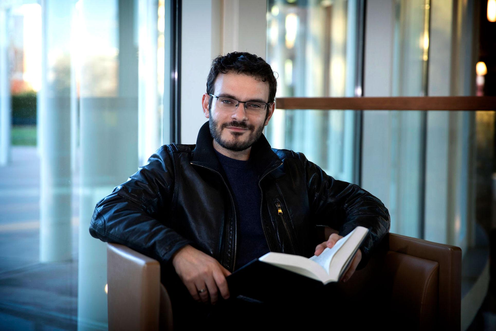 Murad Idris, an assistant professor of politics, focuses his scholarship on conceptions of peace.