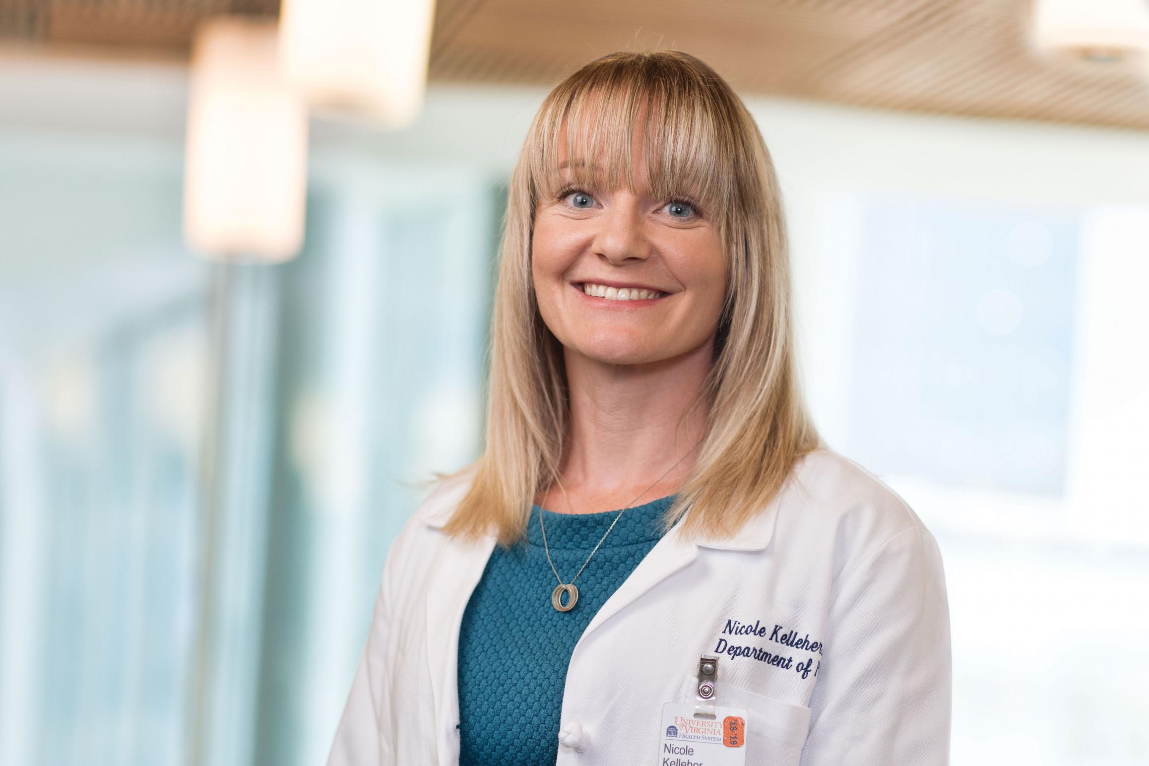 With a strong family history of cancer, Dr. Nicole Kelleher turned to the UVA High-Risk Breast and Ovarian Cancer program for help.