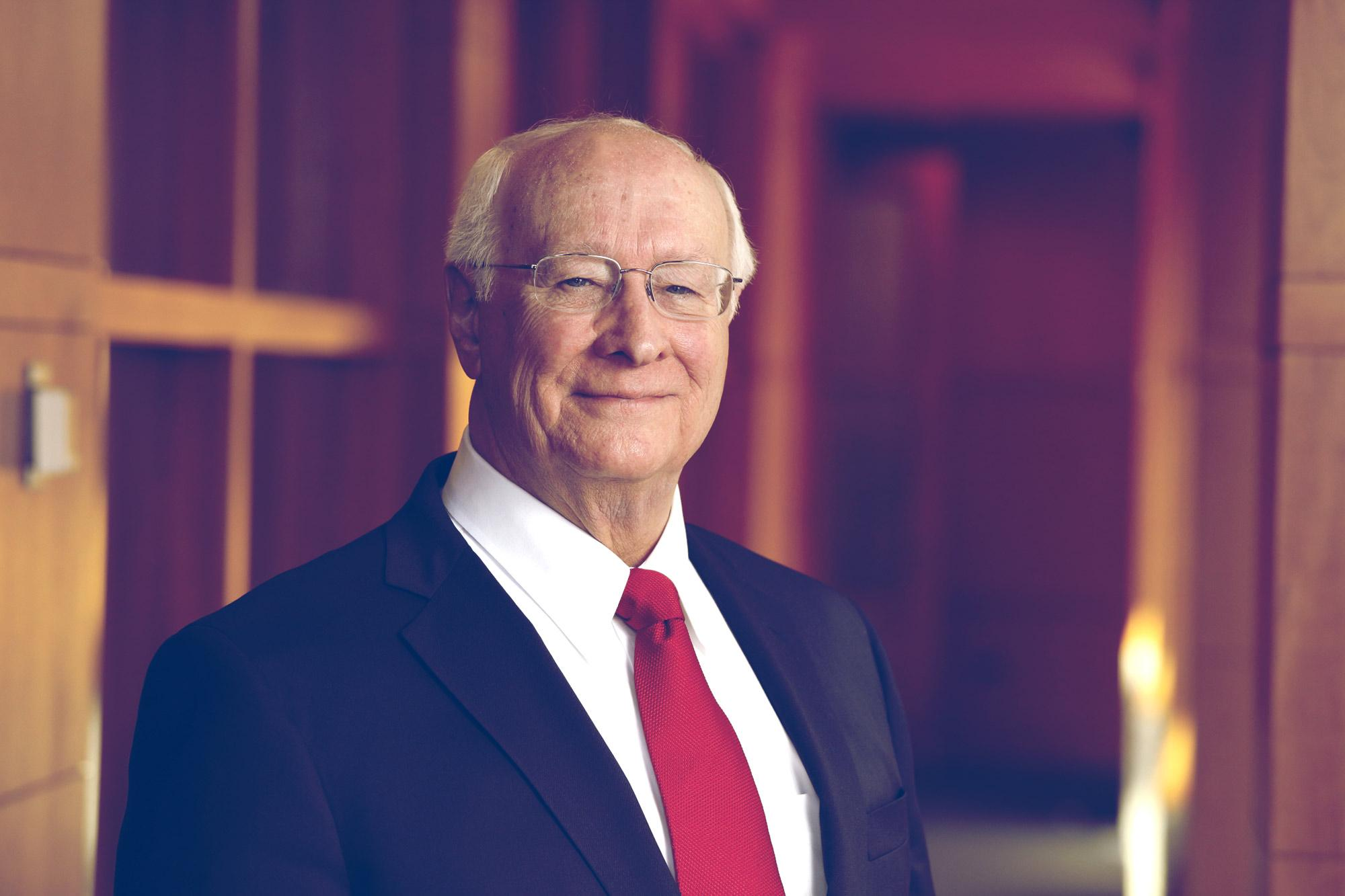 John Norton Moore, the Walter L. Brown Professor of Law, is celebrating 50 years at the University of Virginia School of Law.