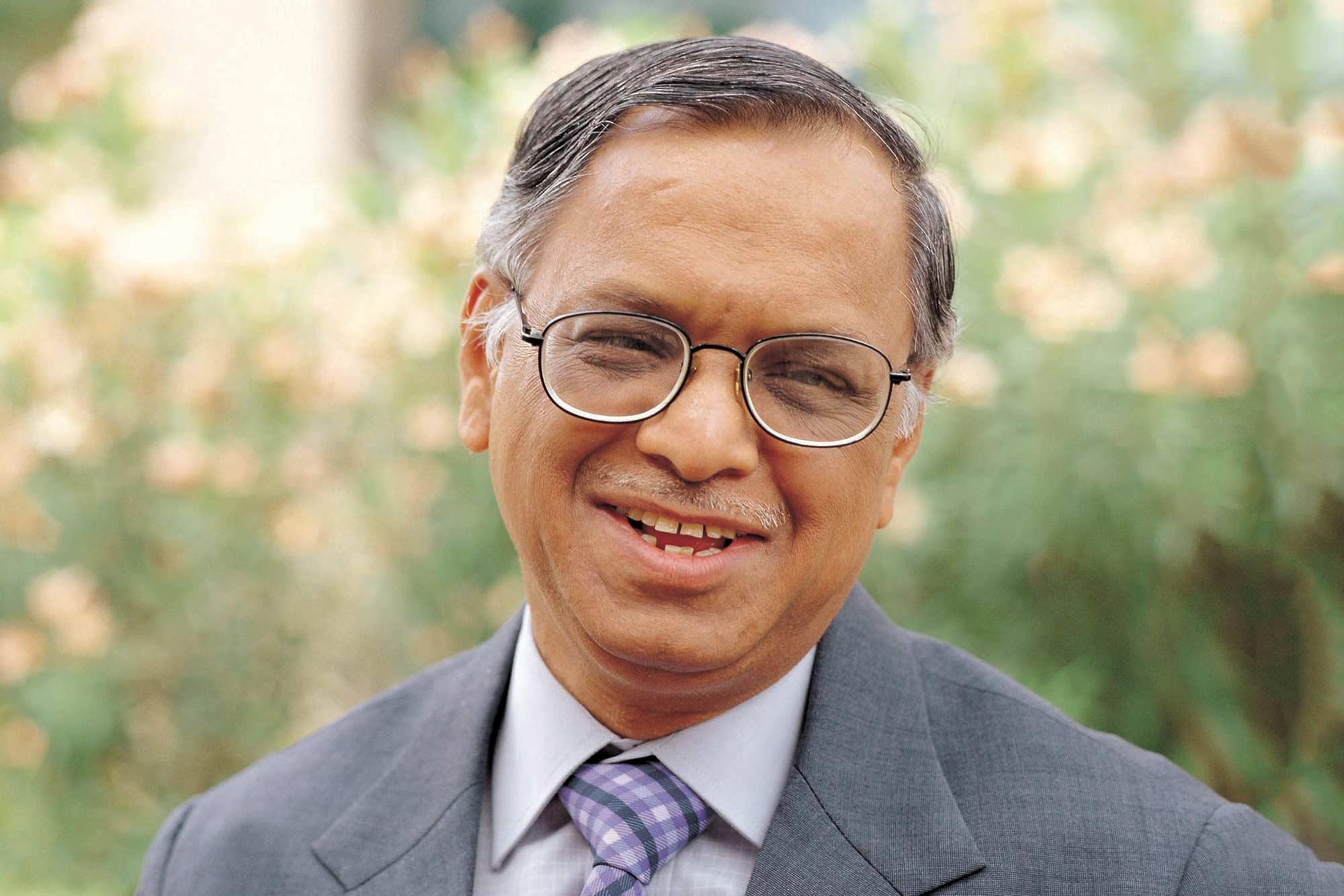Narayana Murthy is the 2017 Thomas Jefferson Foundation Medalist in Global Innovation.