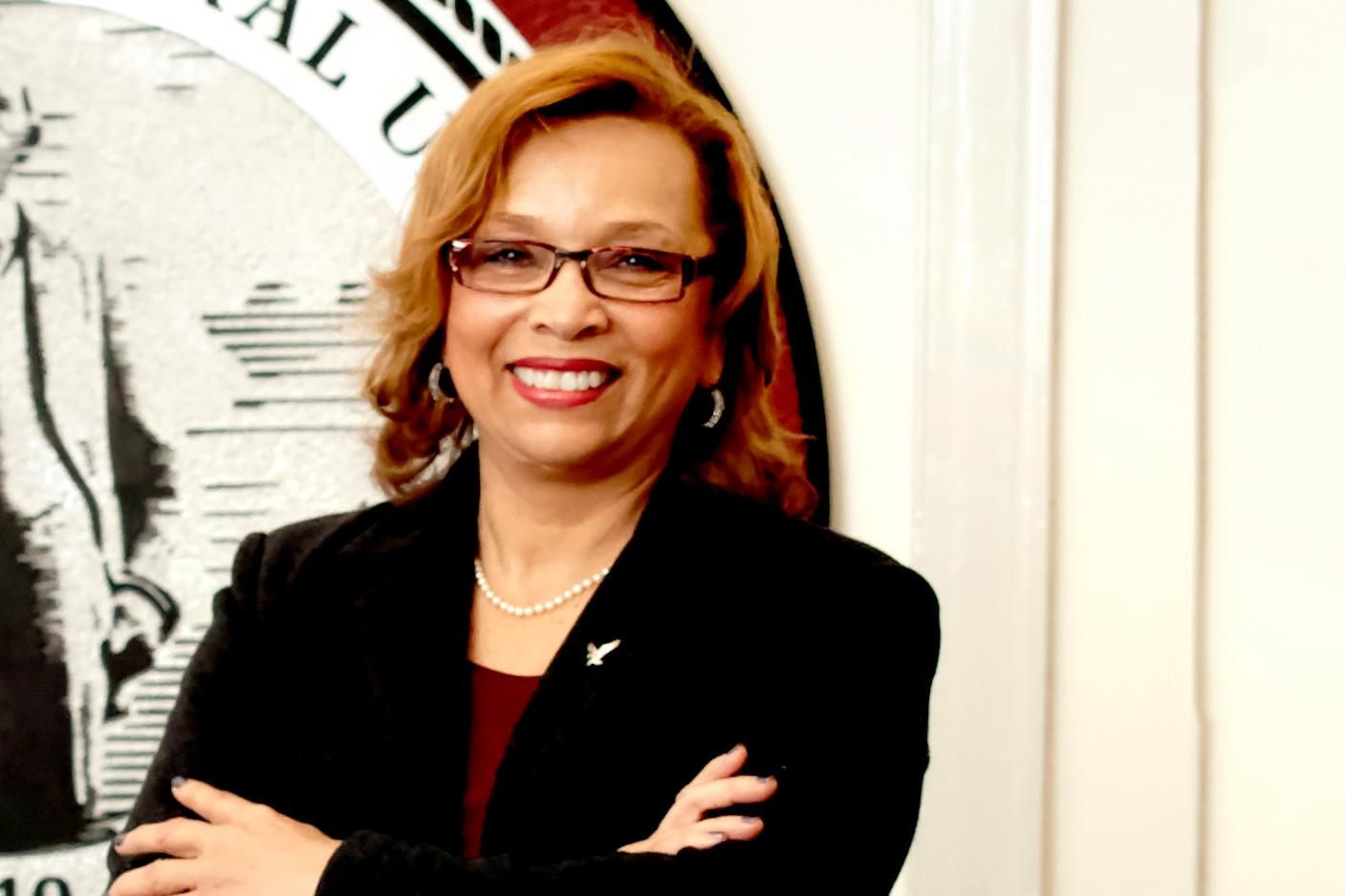 Debra Saunders-White, a UVA graduate and the chancellor of North Carolina Central University, passed away on Nov. 26. (Photo courtesy of NCCU Office of University Relations.)
