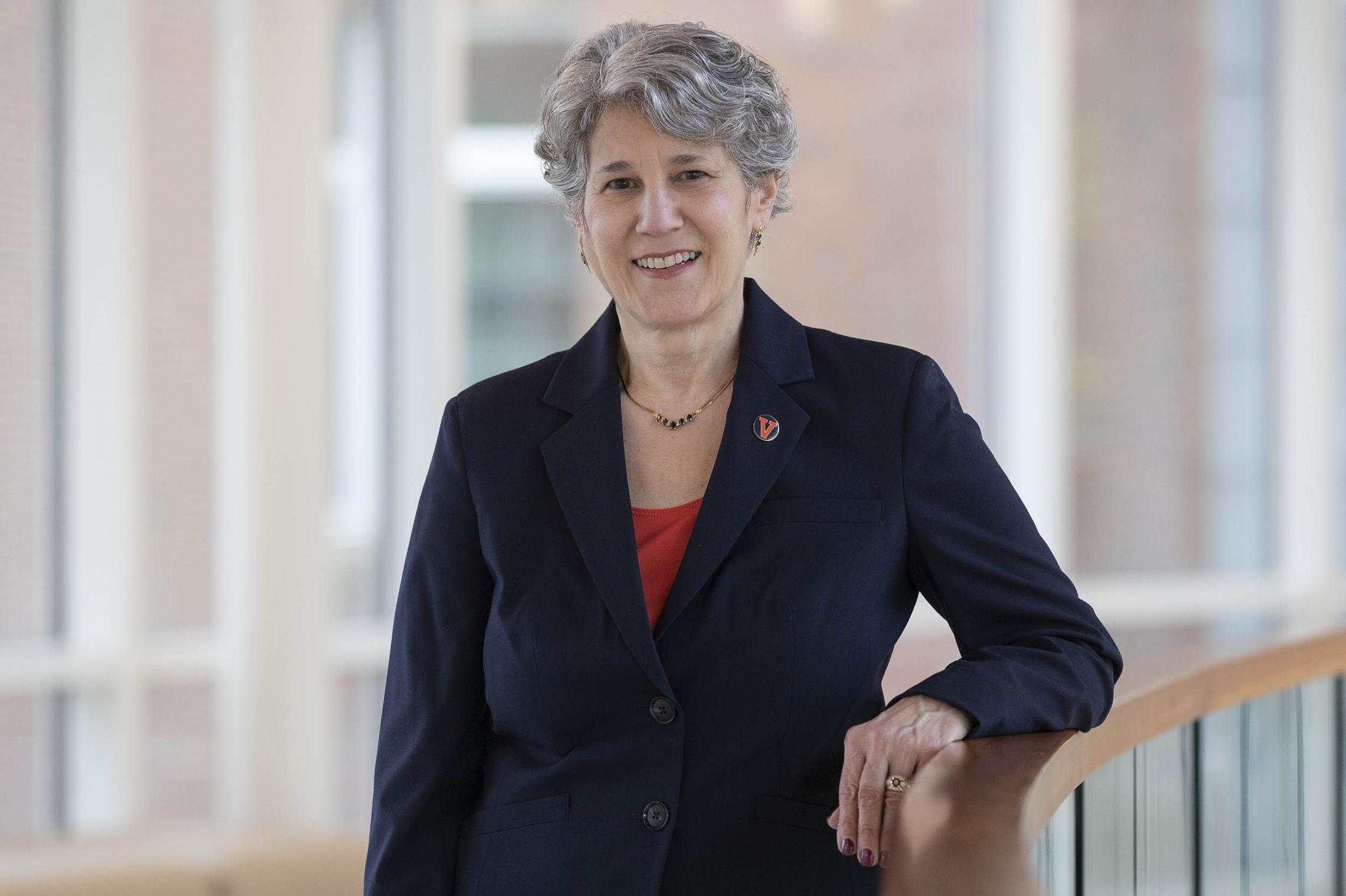 Pam Cipriano, a fellow of the American Academy of Nursing, served for nine years as the chief clinical officer/chief nursing officer in the UVA Health System.