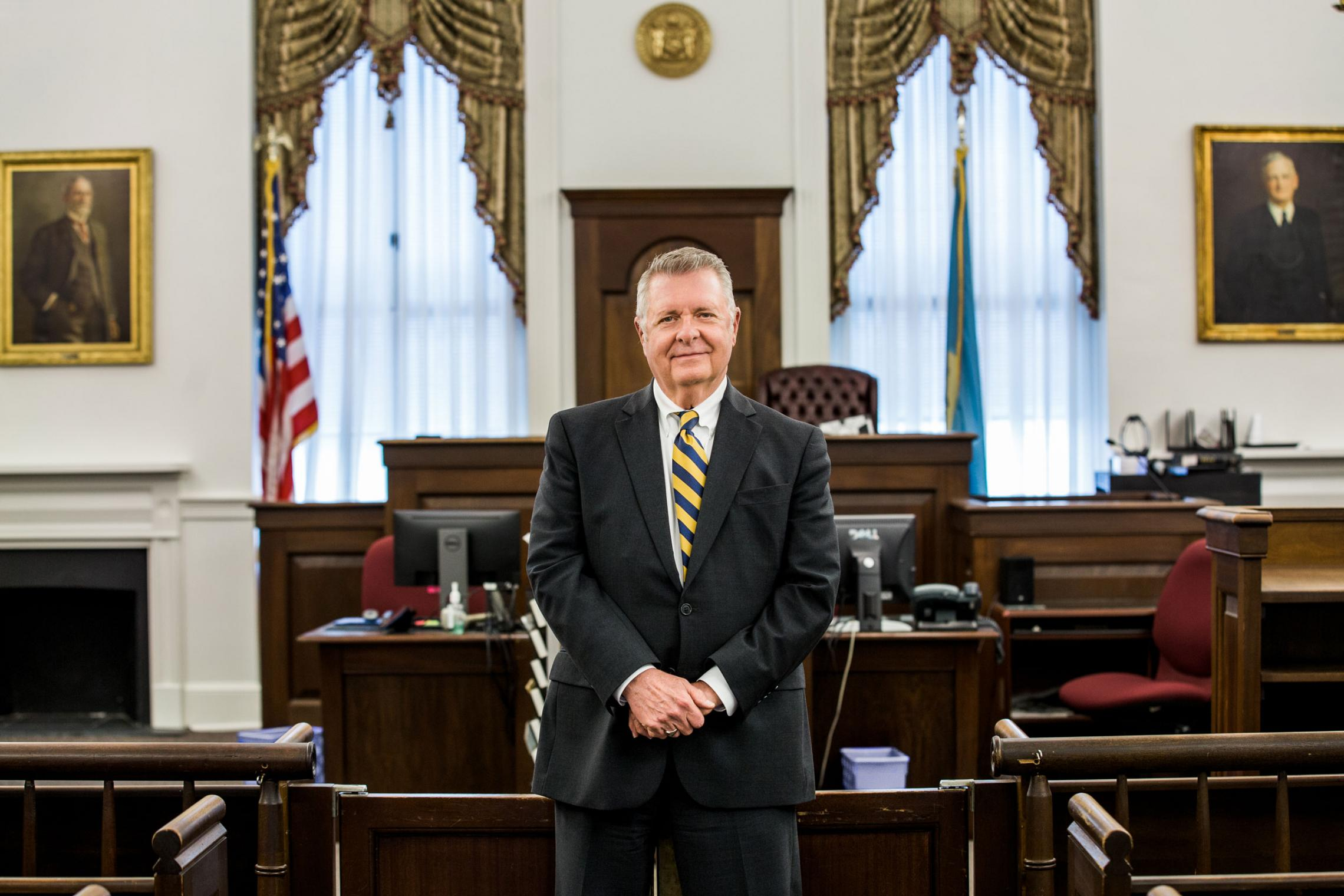 1973 graduate Paul Hurdle, who turned 71 in March, works as a judicial law clerk at the Superior Court of Delaware.