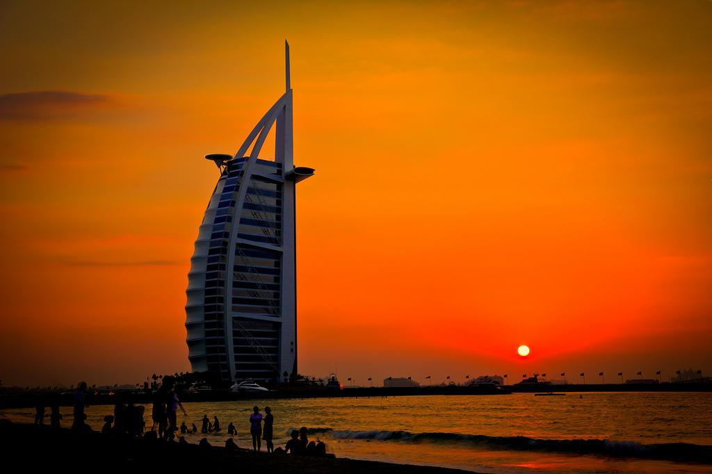 The Burl al-Arab hotel in Dubai