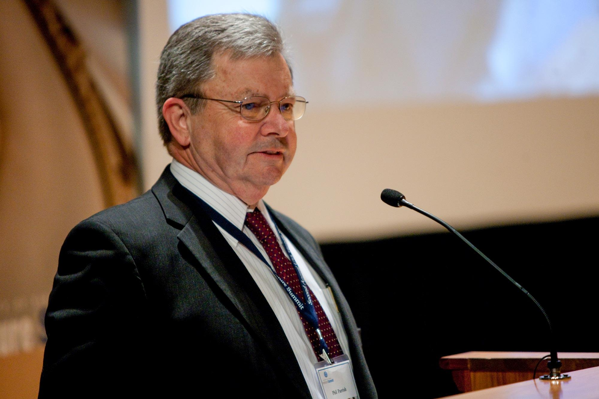 Materials scientist Phillip A. Parrish served as UVA's interim vice president for research.