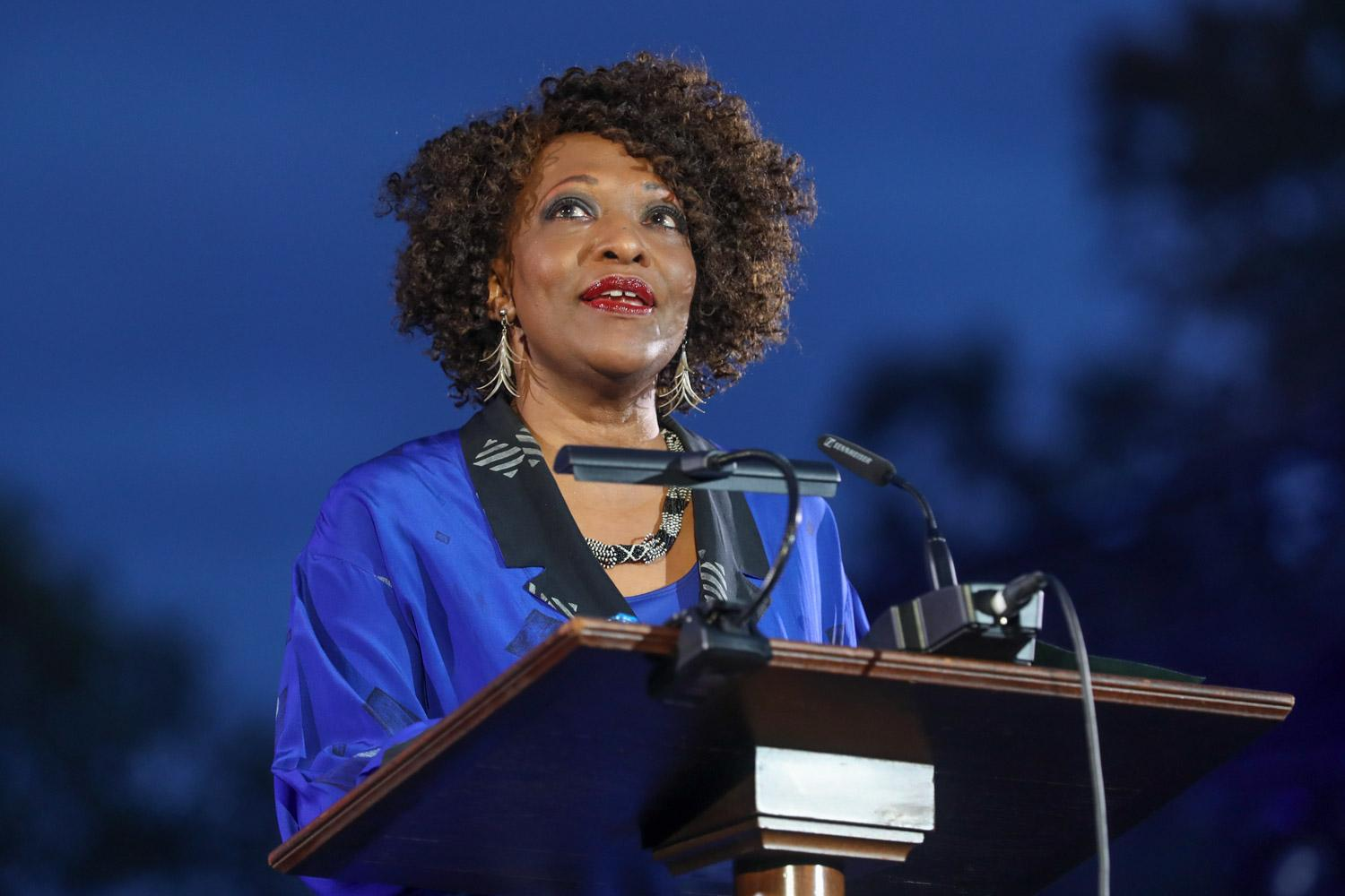 Pulitzer Prize-winning poet Rita Dove, reading her at Friday's Bicentennial Launch Celebration, was recently honored by TIME magazine.