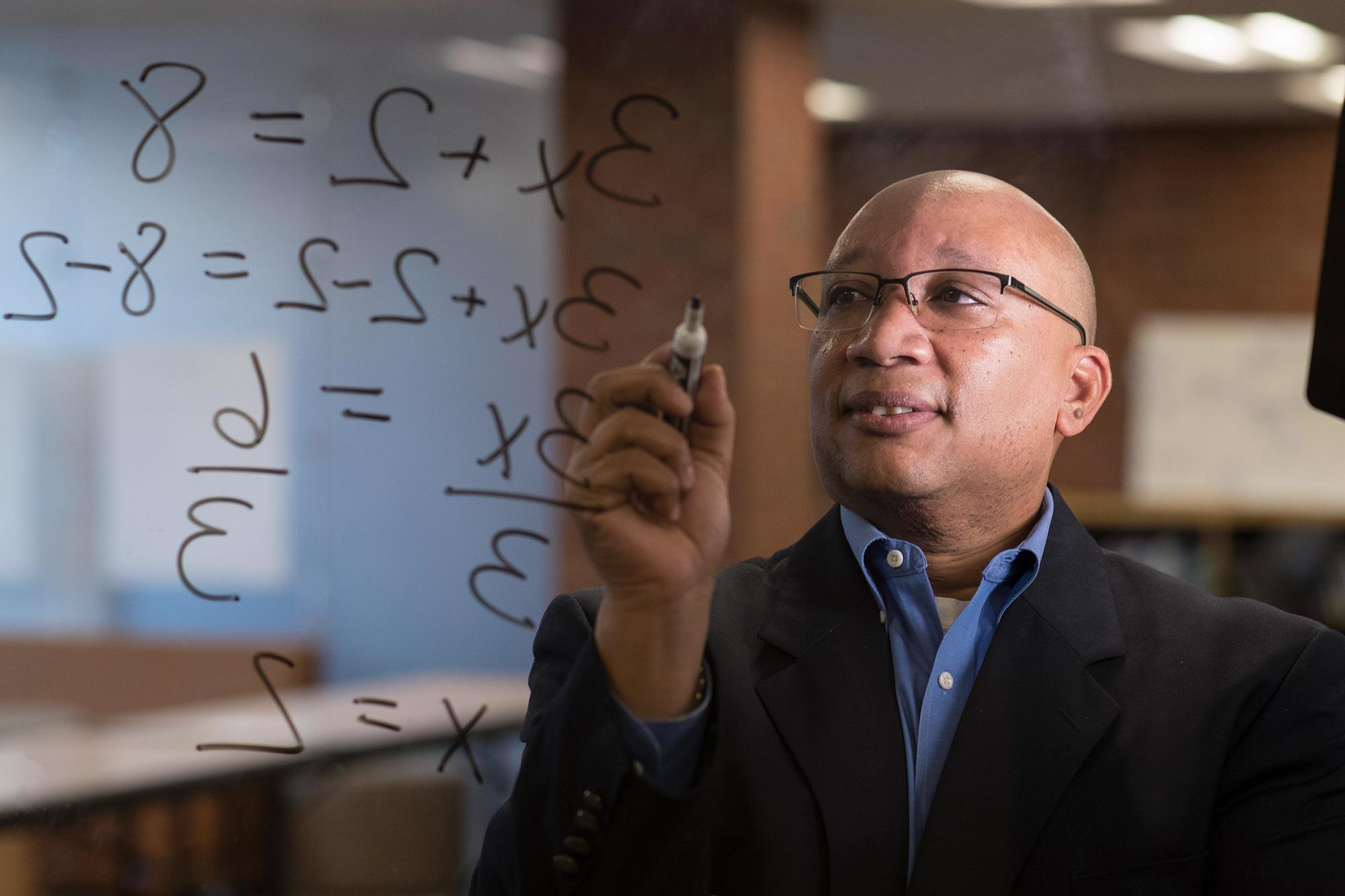 Curry School professor Robert Berry says the way math is taught has changed over the last half-century.