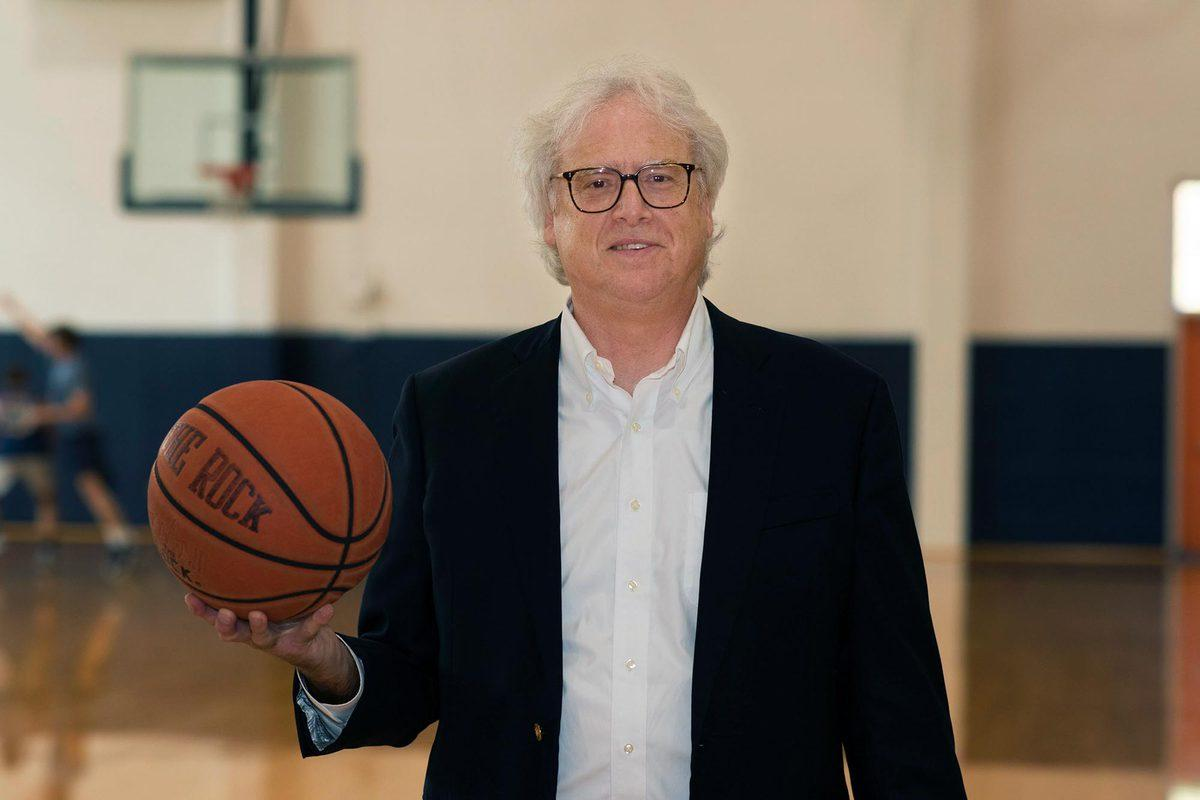 Darden associate professor Robert Carraway grew up playing and coaching basketball.