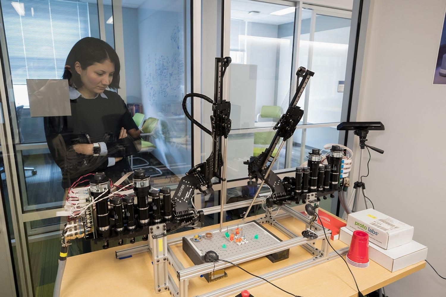 Homa Alemzadeh and colleagues are working to improve the safety of robot-assisted surgery systems and improve the training of the next generation of surgeons.