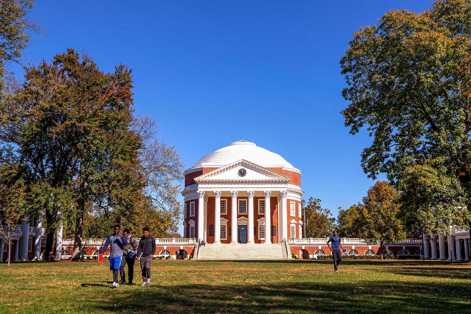U.S. News Lists UVA Among Top Three Public Universities for 27th Straight Year