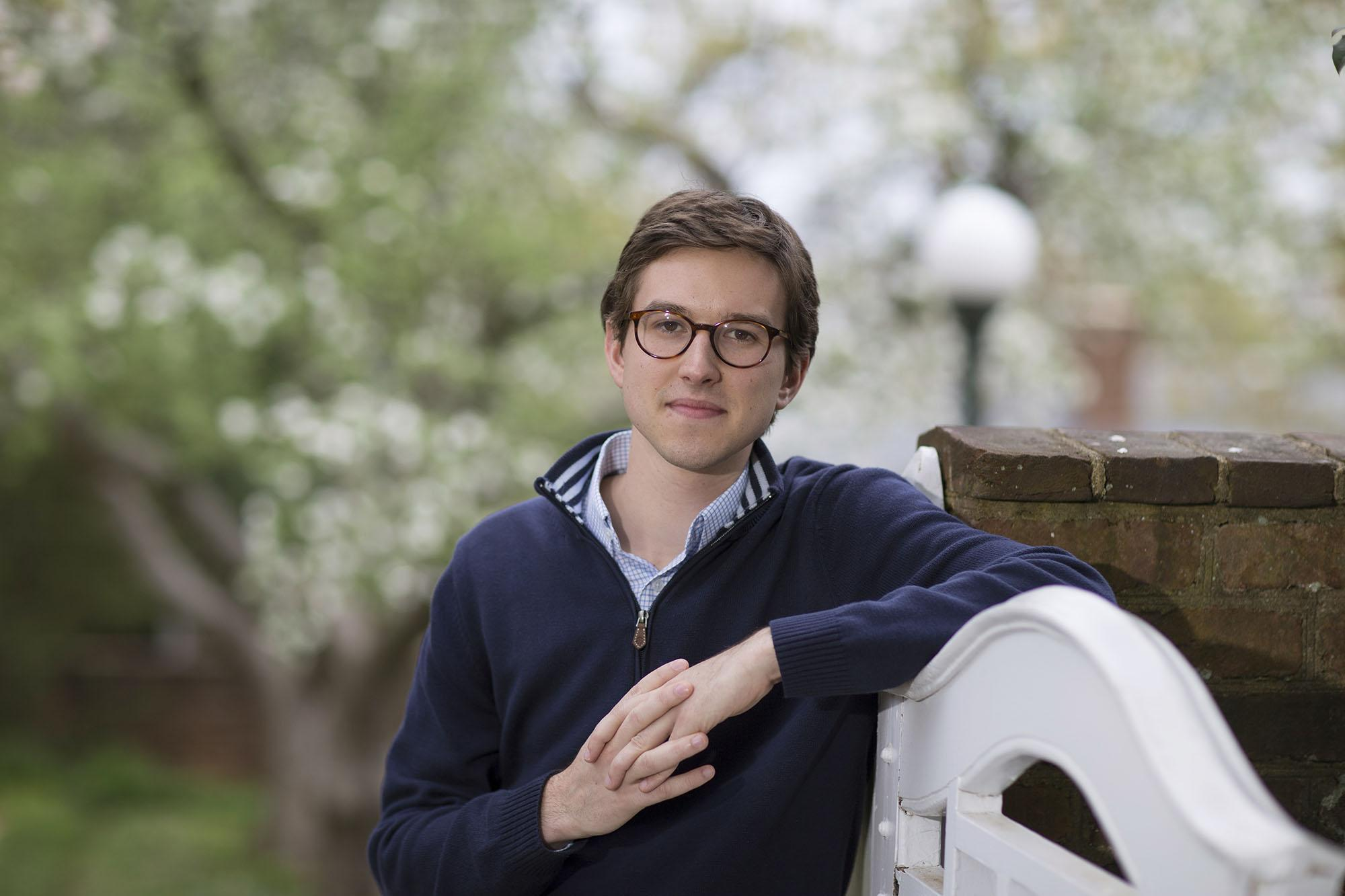 Russell Bogue is the University of Virginia's 51st Rhodes Scholar.