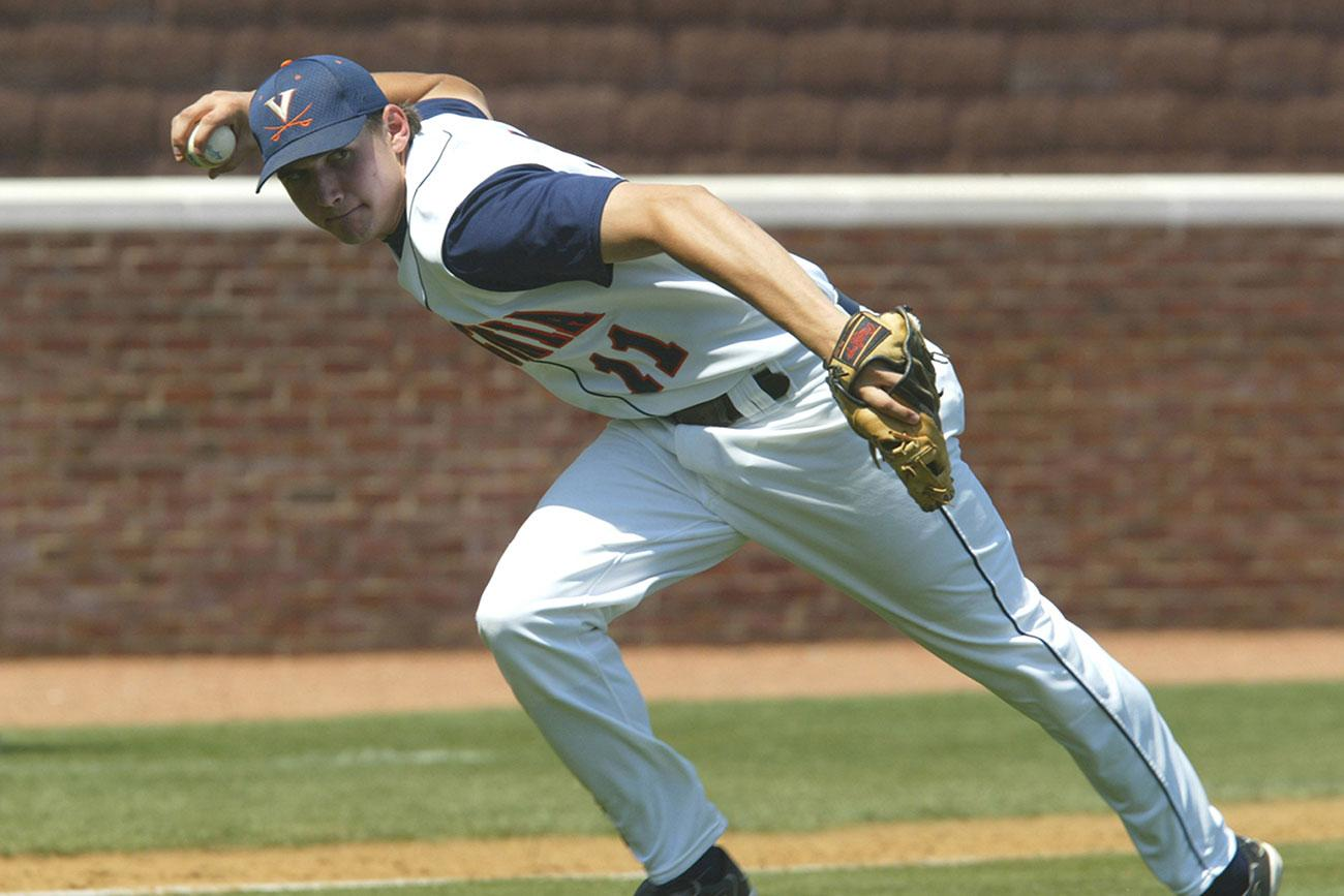 Before going on to star with the Washington Nationals, Ryan Zimmerman was an All-America third baseman at UVA.