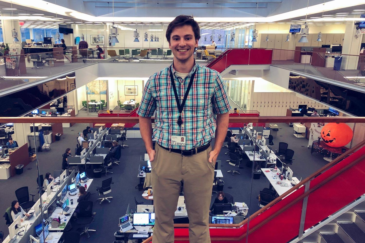 Samuel Ezersky is a UVA engineering alumnus and a crossword puzzle editor at The New York Times.