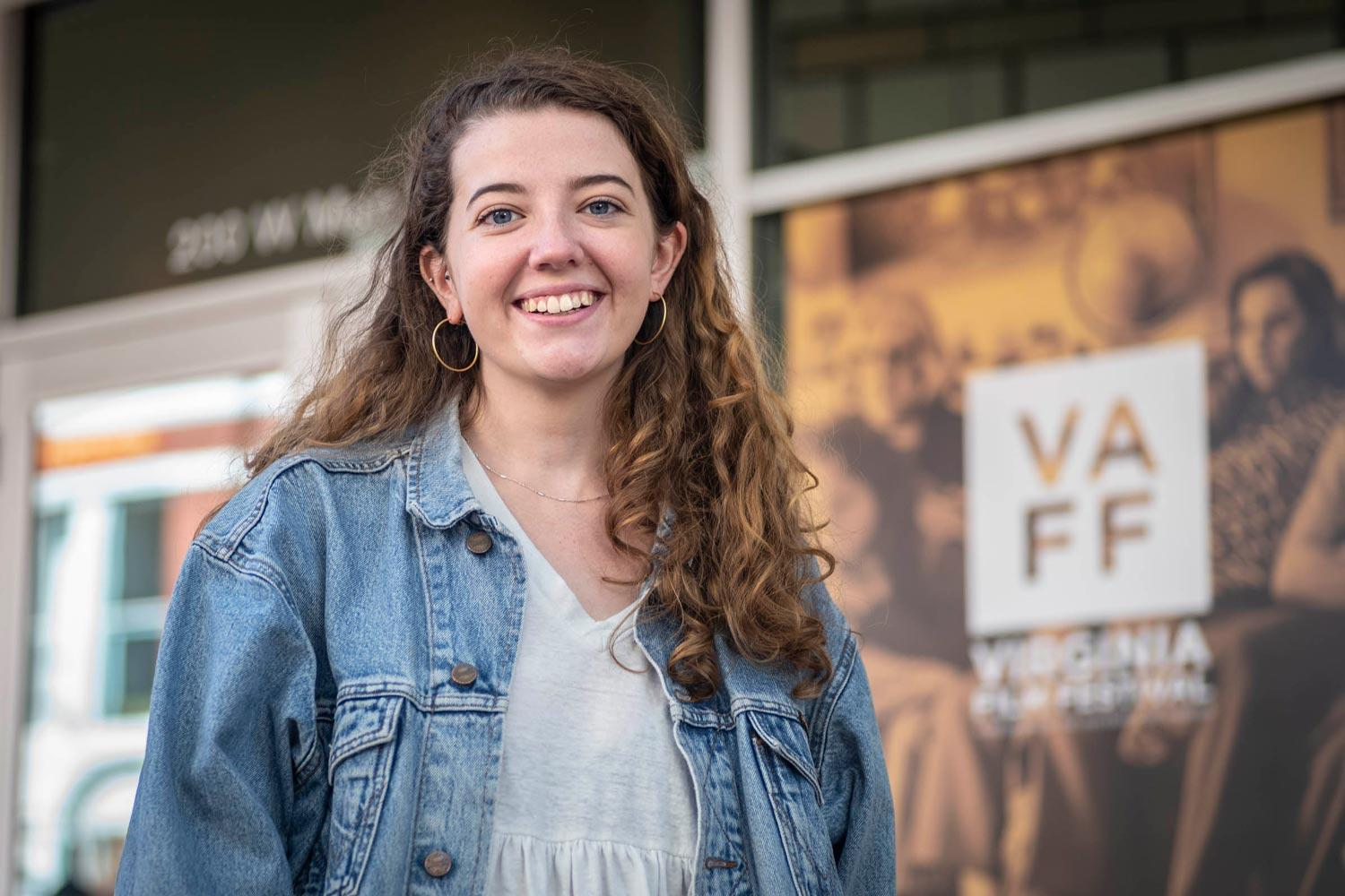 Sarah Ross has interned for the Virginia Film Festival for three out of her four years at UVA.