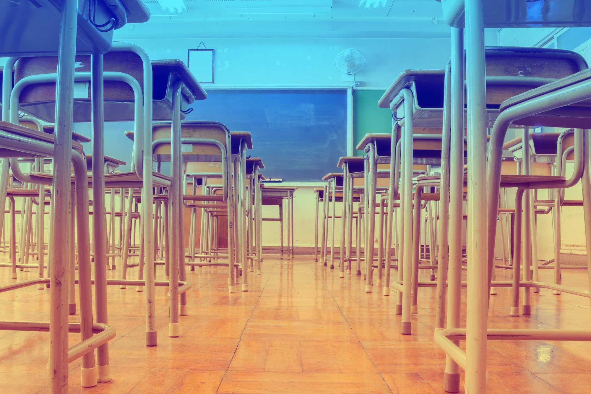 Classroom stock shot
