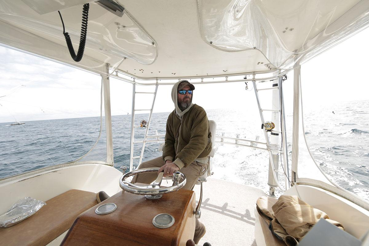 Alumnus takes on the yanks on wicked tuna reality show for Ford s fish shack menu