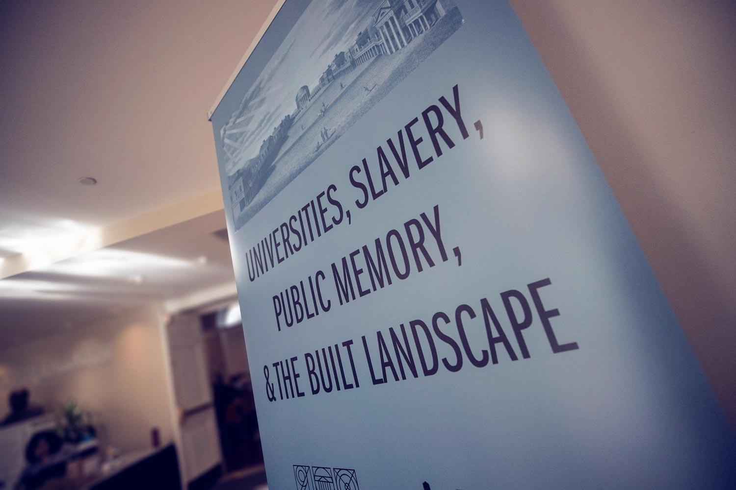 "The symposium, ""Universities, Slavery, Public Memory and the Built Landscape,"" is the second major event of the University's bicentennial commemoration."