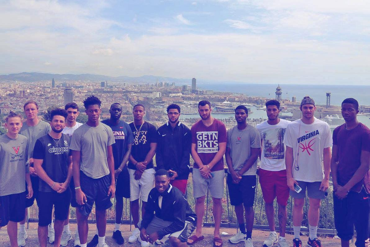Members of the Cavalier basketball team spent every waking hour together in Spain, building bonds that they hope will make them better when their season rolls around this fall.