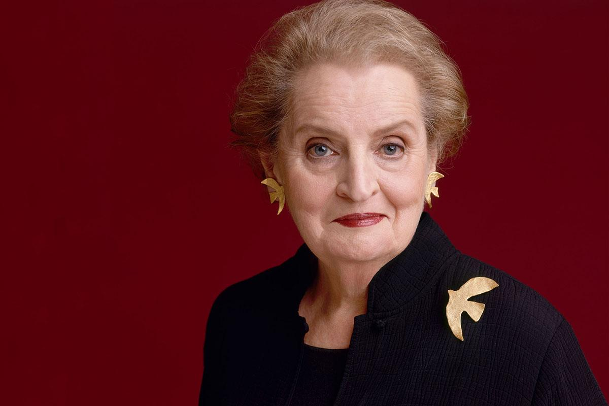 In 2012, Madeleine Albright received the nation's highest civilian honor, the Presidential Medal of Freedom, in recognition of her contributions to international peace and democracy.