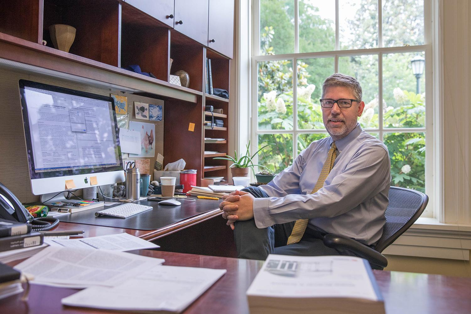 Steven L. Johnson is an associate professor of Commerce in UVA's McIntire School of Commerce.