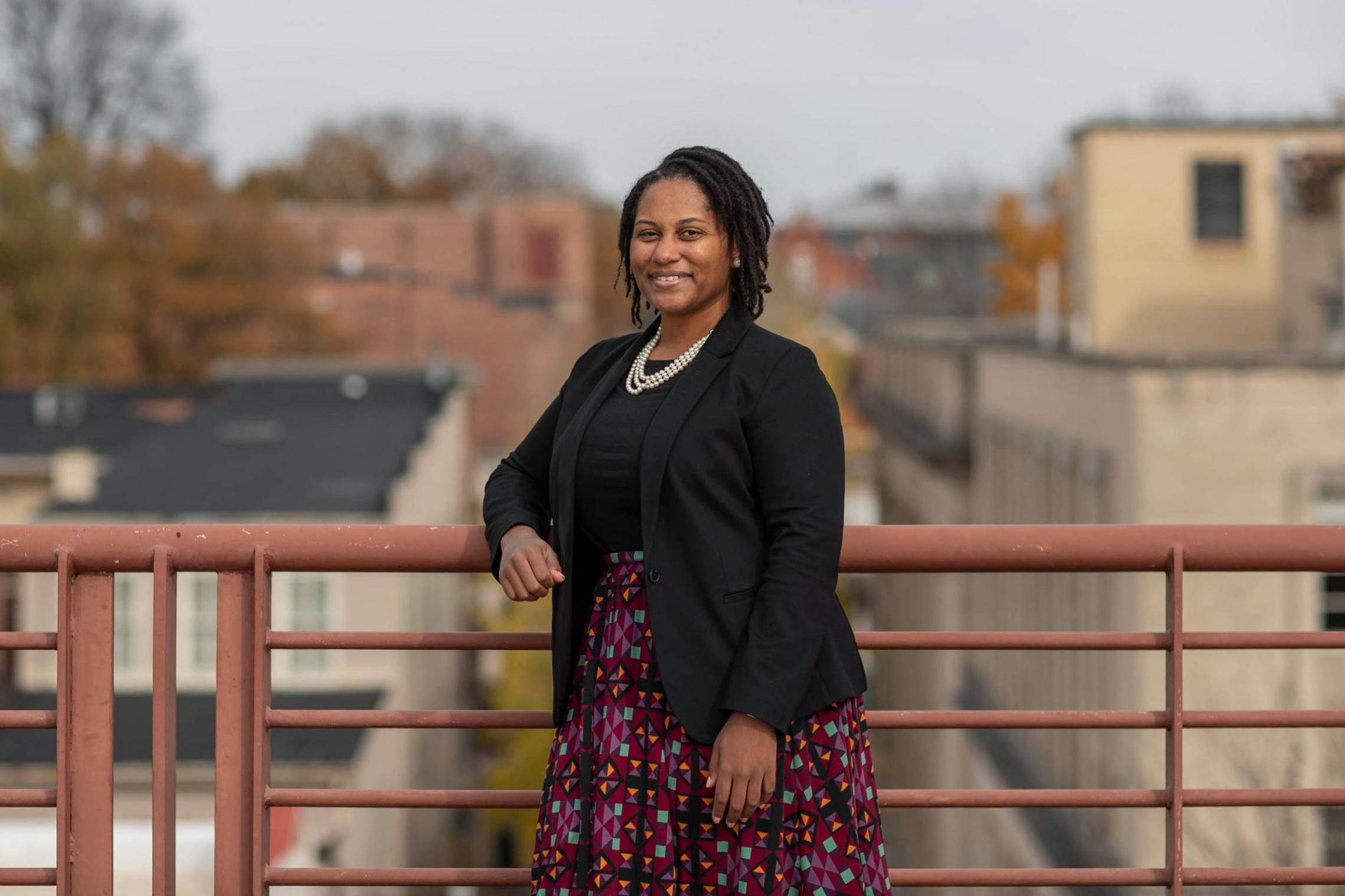 Tamara Wilkerson graduated from the Curry School and now leads the African American Teaching Fellows program in Charlottesville.