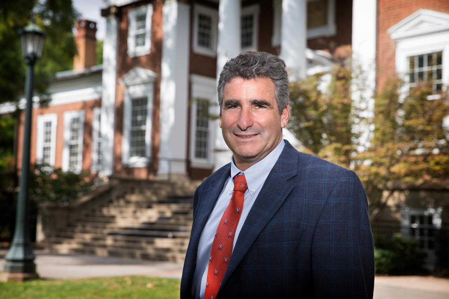 Thomas C. Katsouleas, UVA's executive vice president and provost, will speak at the Fall Convocation, to be held Oct. 26 during Family Weekend.