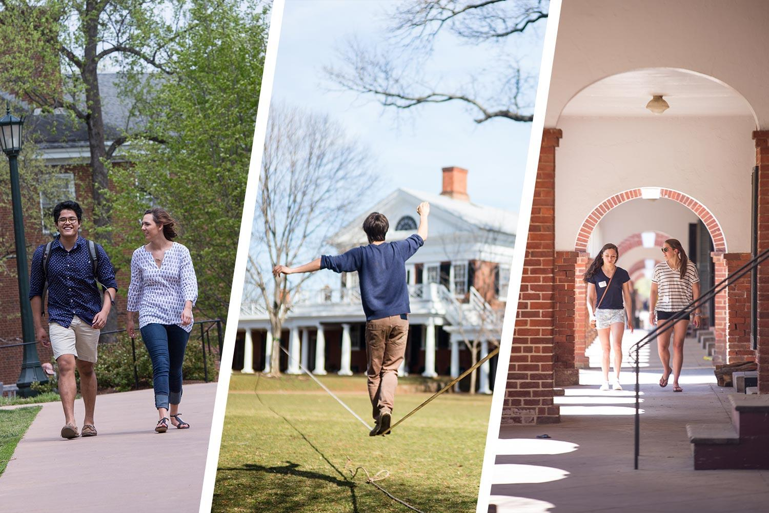 Join University Guides for a virtual tour of UVA before classes begin.