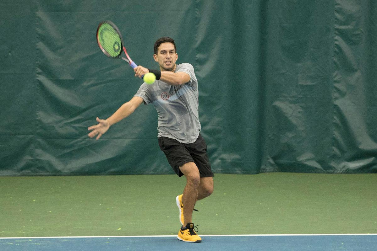 Treat Huey, a 2008 UVA alumnus, said he thinks he would like to stay in tennis when his playing days are over.