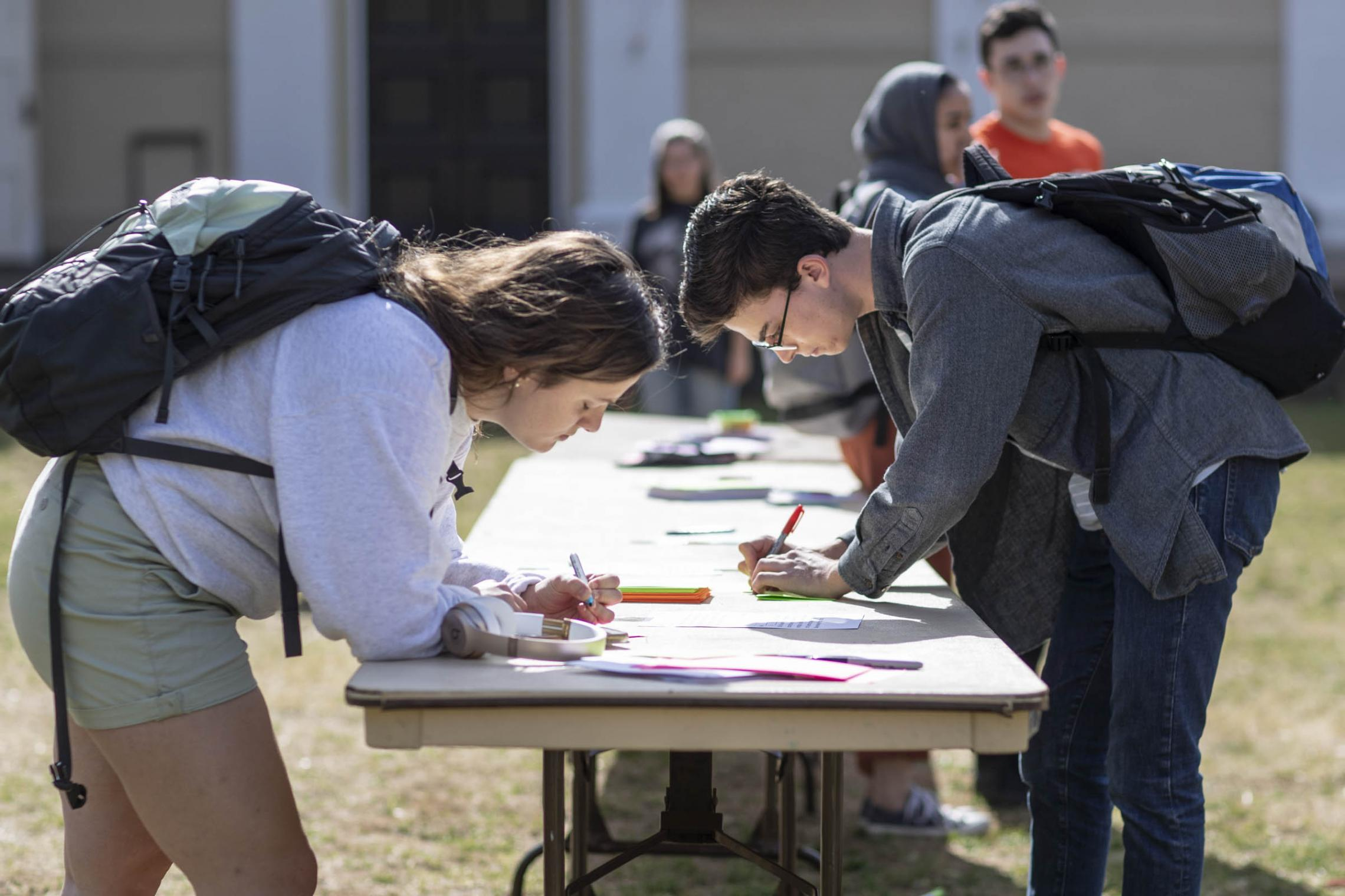Students write letters to the Jewish community in Pittsburgh, which recently suffered the deadliest attack on Jews in U.S. history.