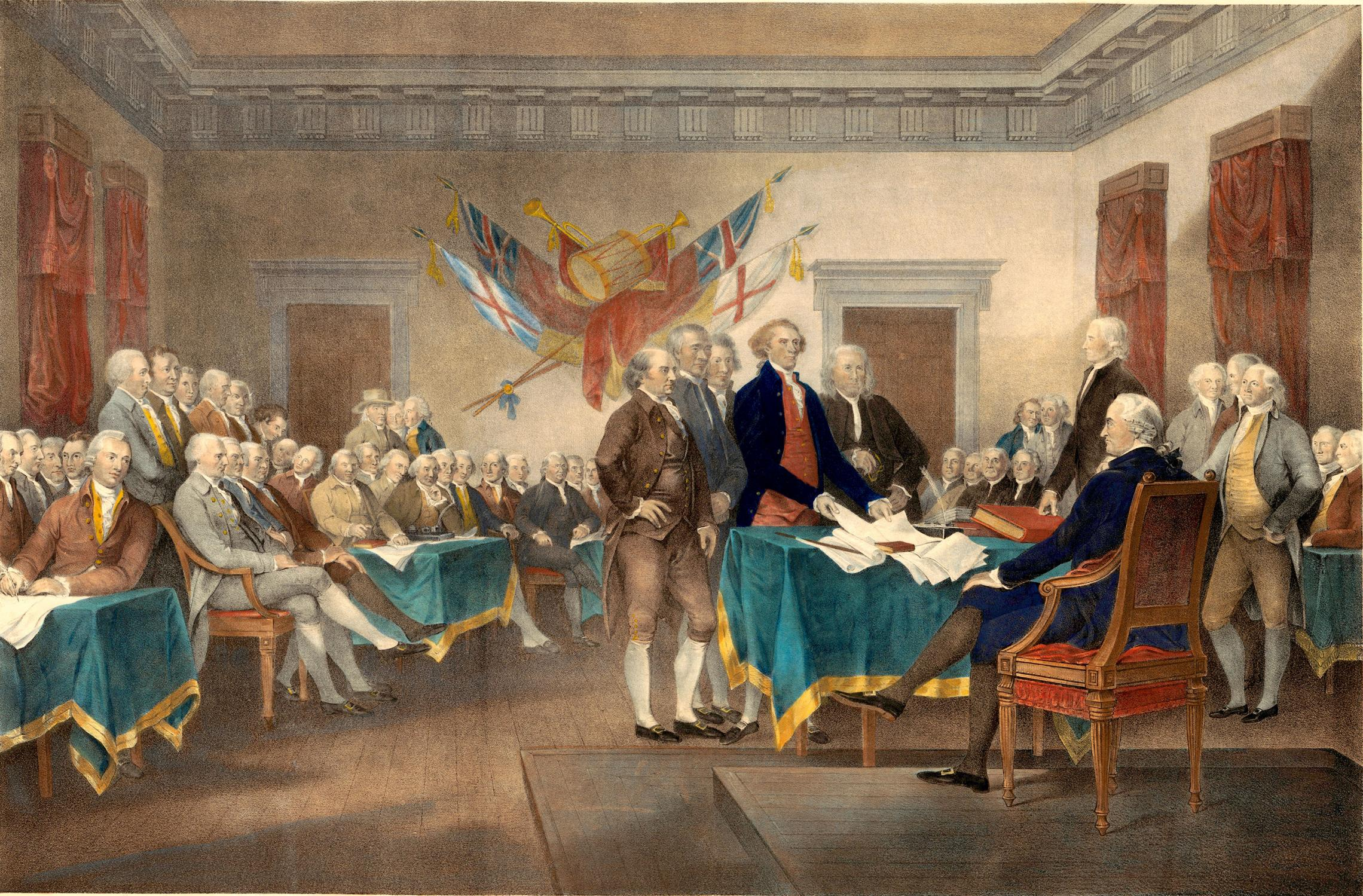 a history of the declaration of war by the colonies on britain By 1776, the colonists had declared themselves independent and in 1783,  the  british victory in the seven years' war had been costly in human  that the  colonies should declare themselves independent because 'there is.