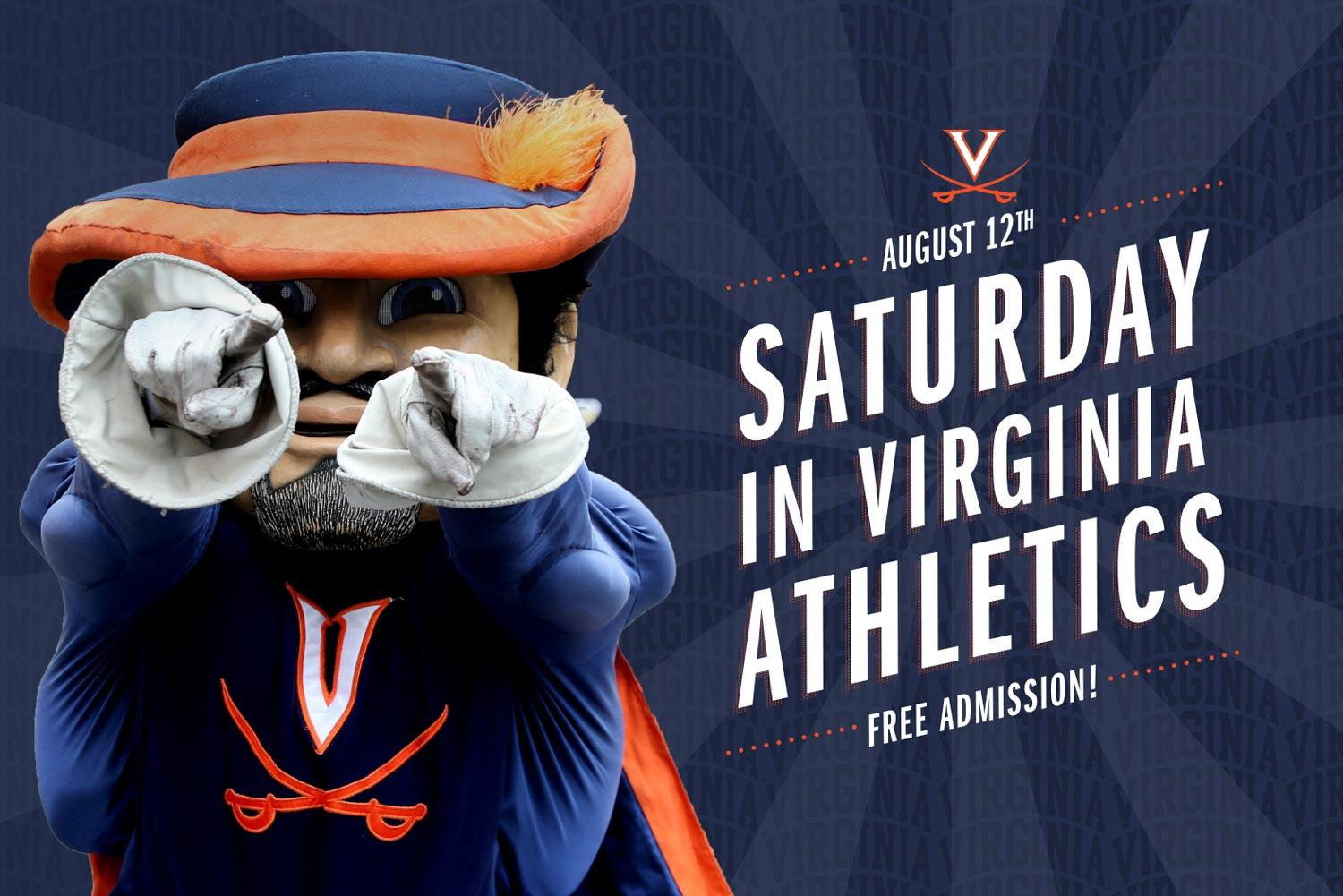 UVA Hosts Two Free Preseason Athletic Events Saturday