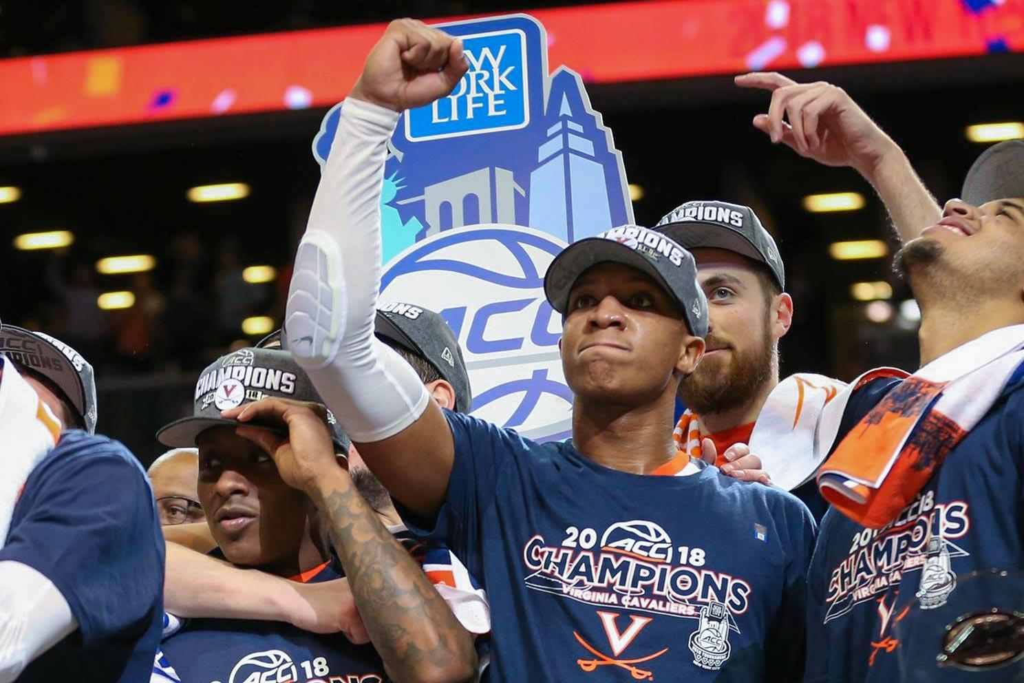 With UVA's third ACC Tournament championship in hand, the Cavaliers say they still have higher goals in mind as the enter the NCAA Tournament.