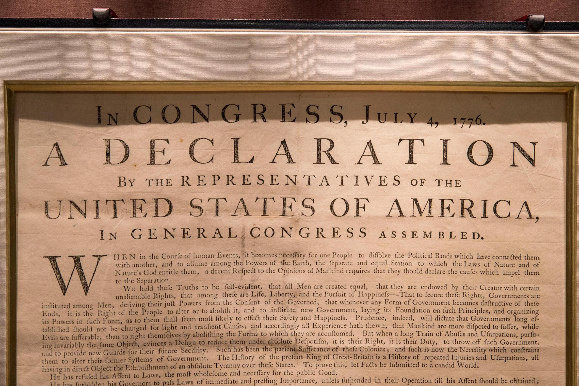 what time was the declaration of independence signed