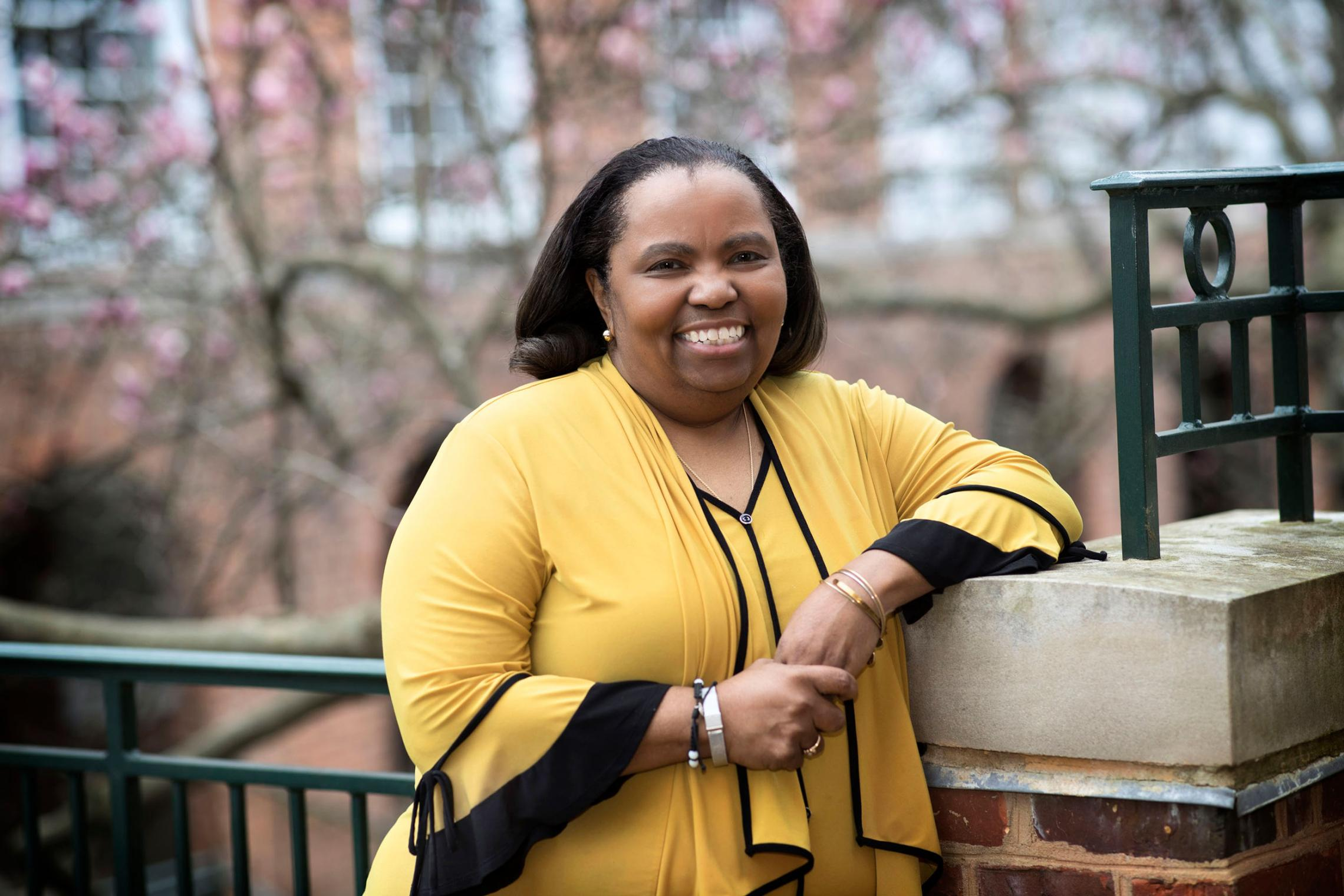 Valerie Gregory, associate dean of undergraduate admission and director of outreach, has traveled thousands of miles to recruit underrepresented students to UVA.