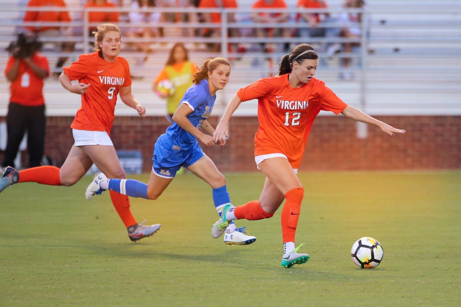 Veronica Latsko tallied five game-winning goals and led the Cavaliers in scoring last fall before being drafted by the Houston Dash of the National Women's Soccer League.