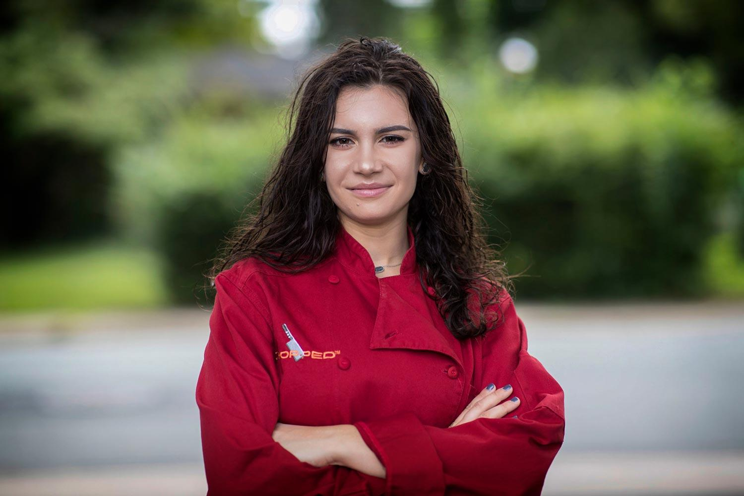 "UVA student and teen ""Chopped"" champion Veronica Seguin will teach two free cooking master classes."