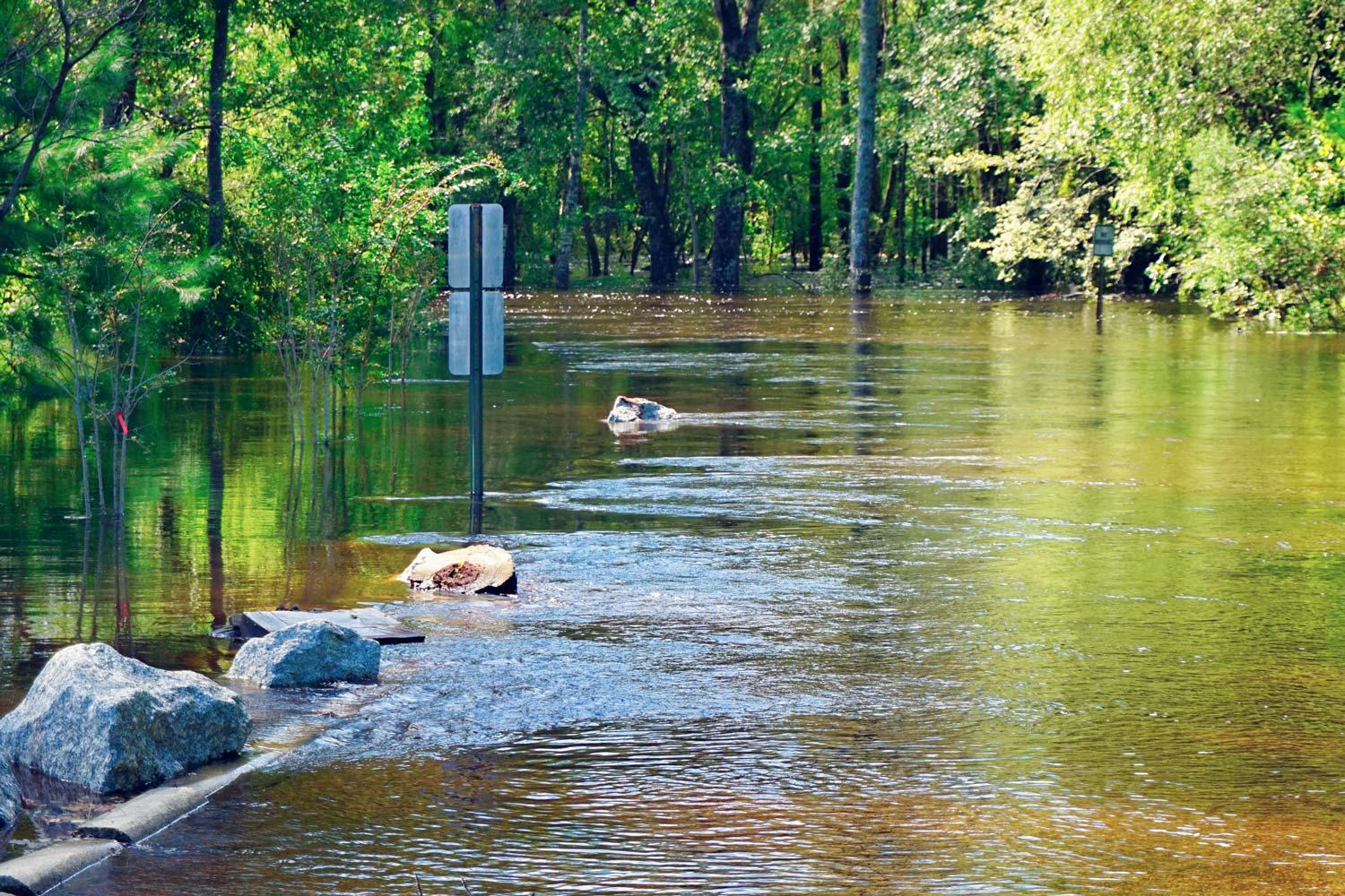 Extensive coastal and inland flooding – as occurred in North and South Carolina after Hurricane Florence struck – is expected to increase as the climate changes.