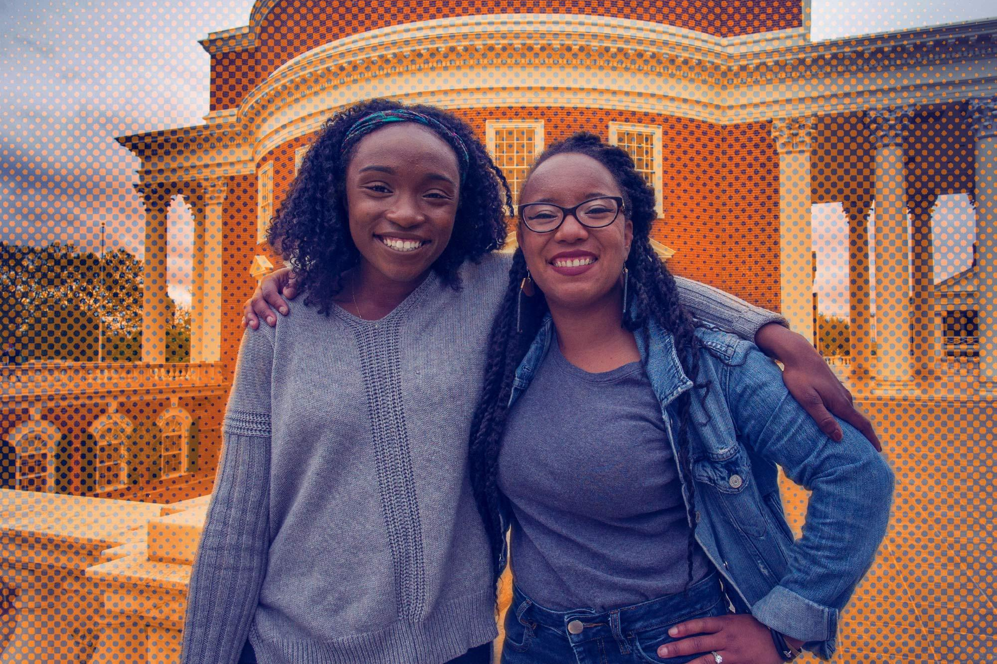 Shontell and Tonyette White, 22 and 26 respectively, will walk the Lawn Sunday as part of the Class of 2017.
