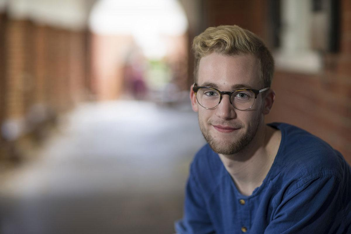 Neuroscience Major William Butler developed a love for research from hands-on undergrad lab experiences at UVA.