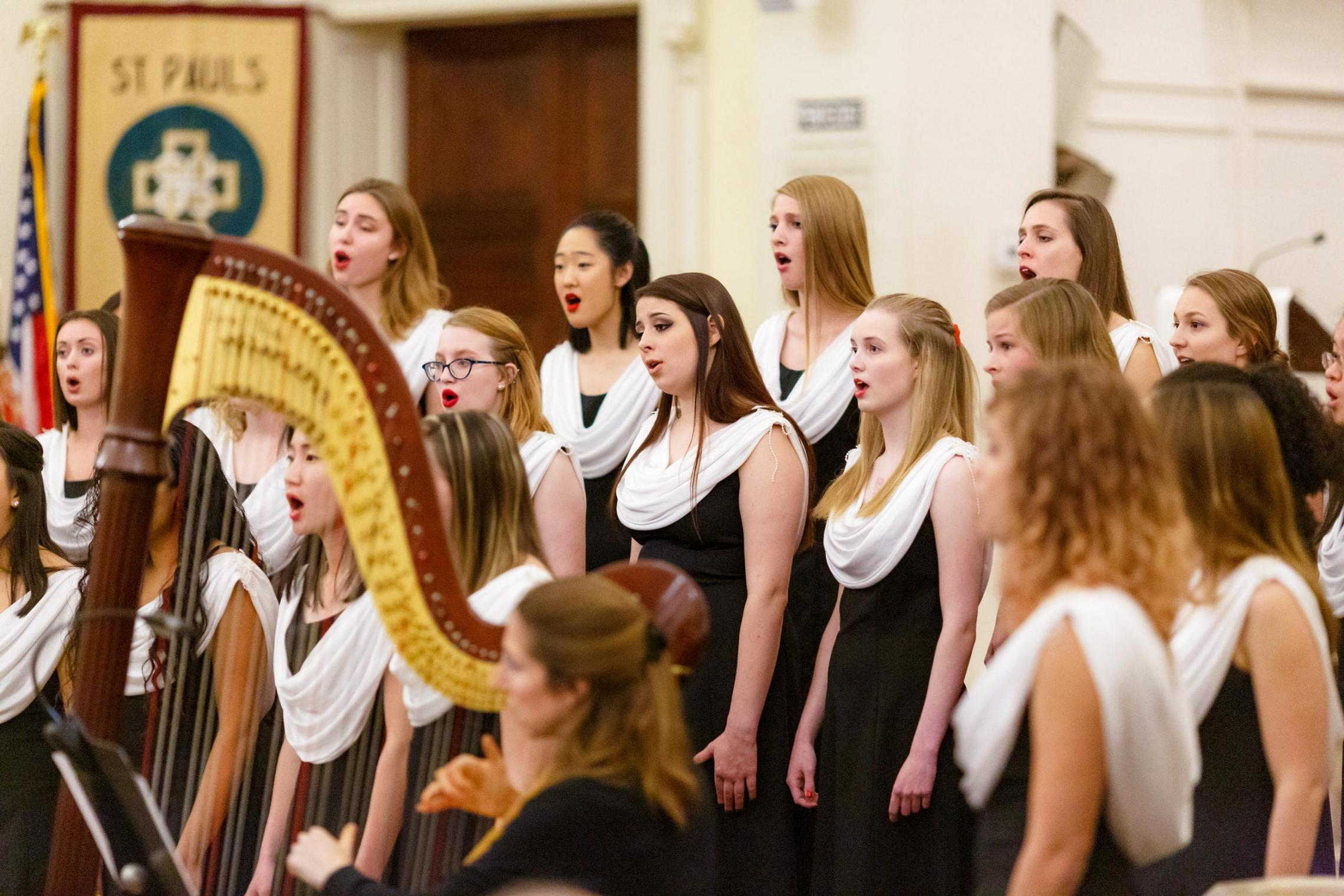 The Virginia Women's Chorus includes undergraduate and graduate students from many different schools at UVA. (Photo by Zurgis Photography)