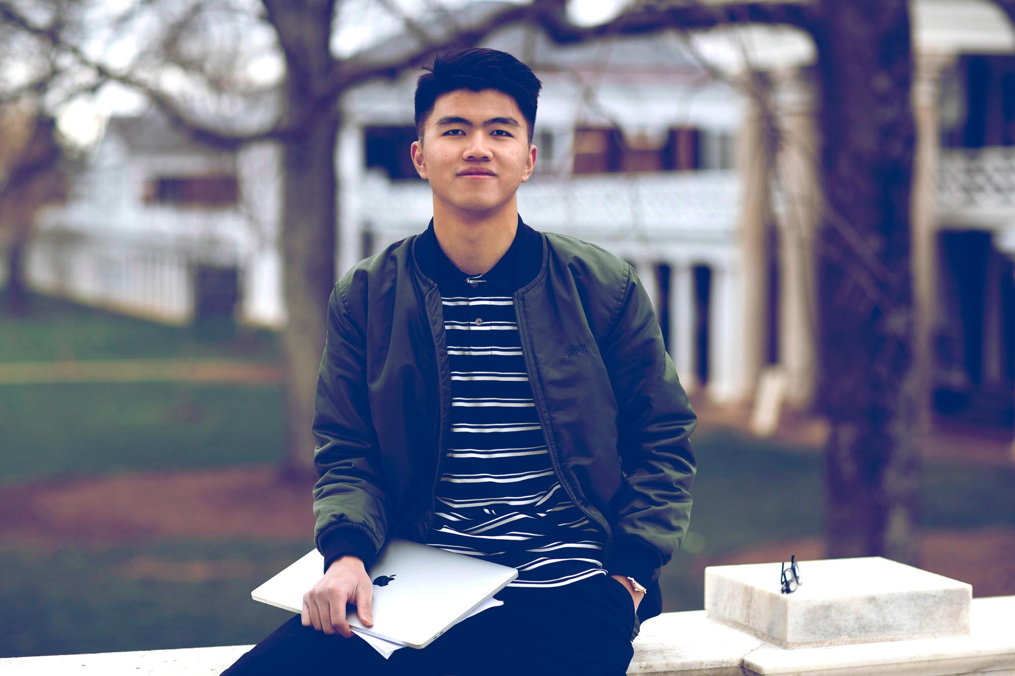 Graduating studio art student and aspiring inventor Zihan Chen will head to New York City with one patent granted and several other patents pending.