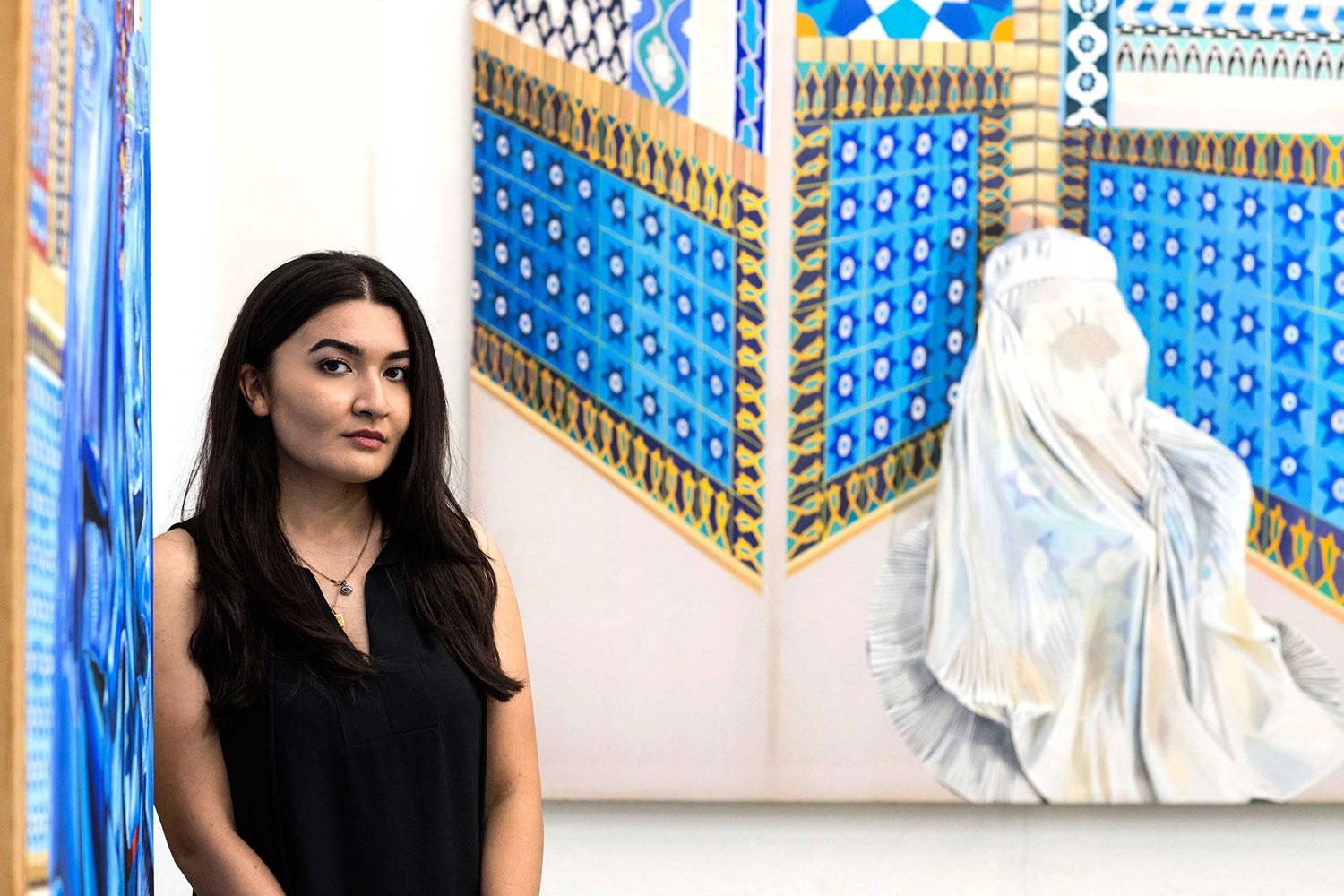 Afghan Dan a dangerous woman': uva artist calls attention to plight of